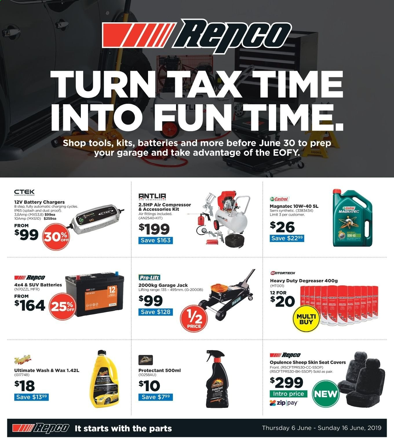 Repco catalogue  - 6.6.2019 - 16.6.2019. Page 1.