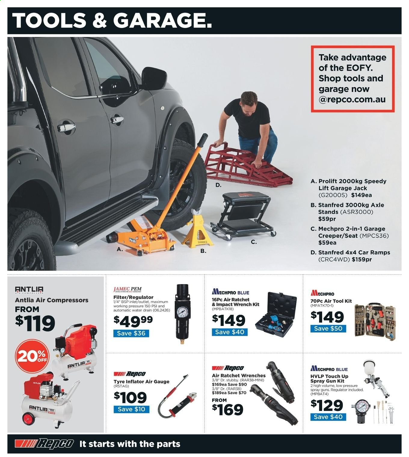 Repco catalogue  - 6.6.2019 - 16.6.2019. Page 2.