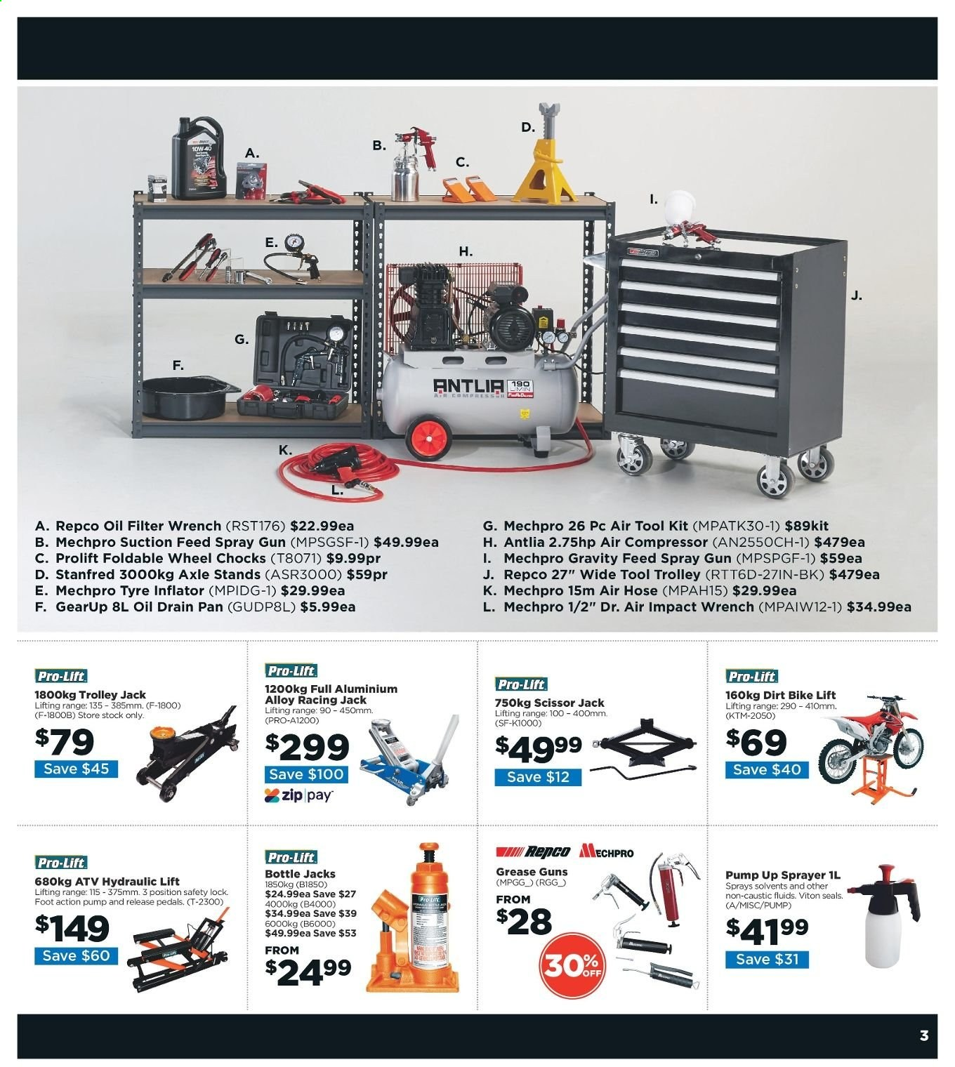 Repco catalogue  - 6.6.2019 - 16.6.2019. Page 3.
