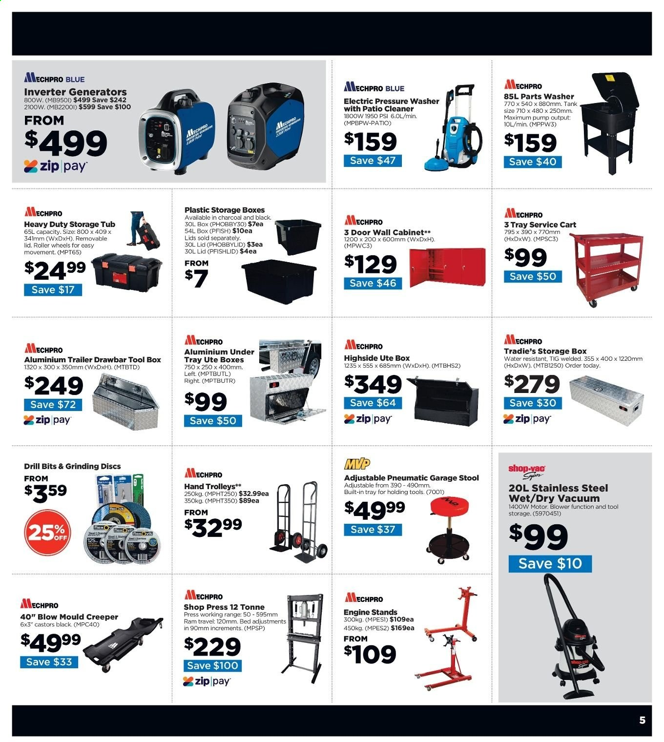 Repco catalogue  - 6.6.2019 - 16.6.2019. Page 5.
