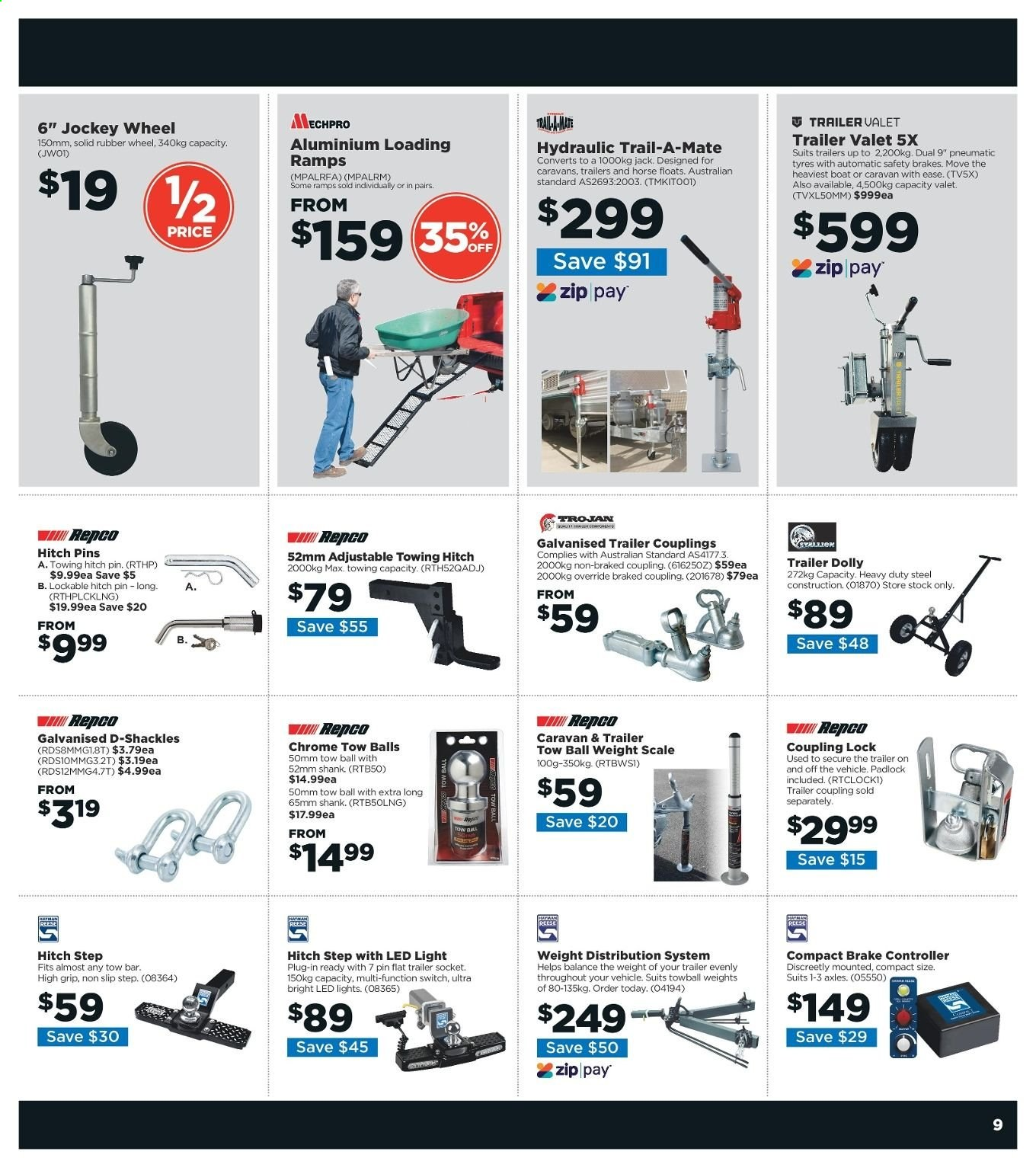 Repco catalogue  - 6.6.2019 - 16.6.2019. Page 9.