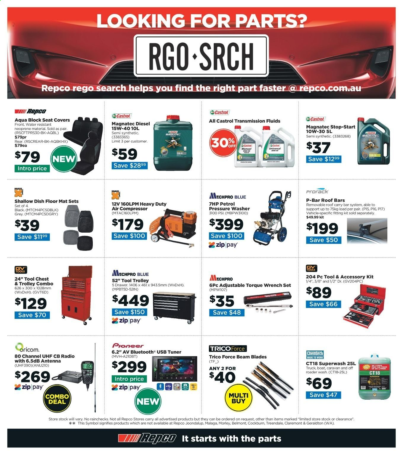 Repco catalogue  - 6.6.2019 - 16.6.2019. Page 16.