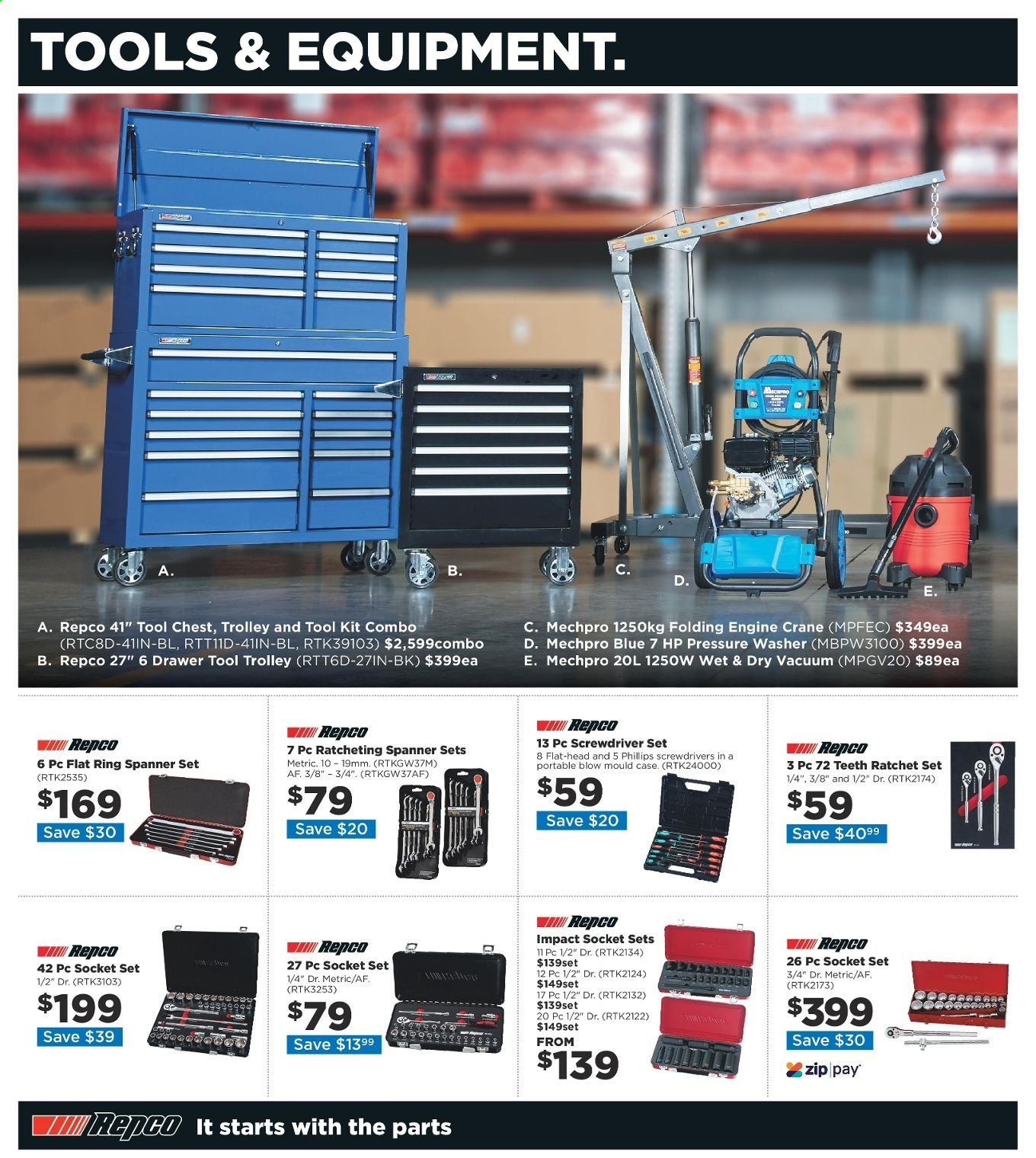 Repco catalogue  - 20.6.2019 - 30.6.2019. Page 2.