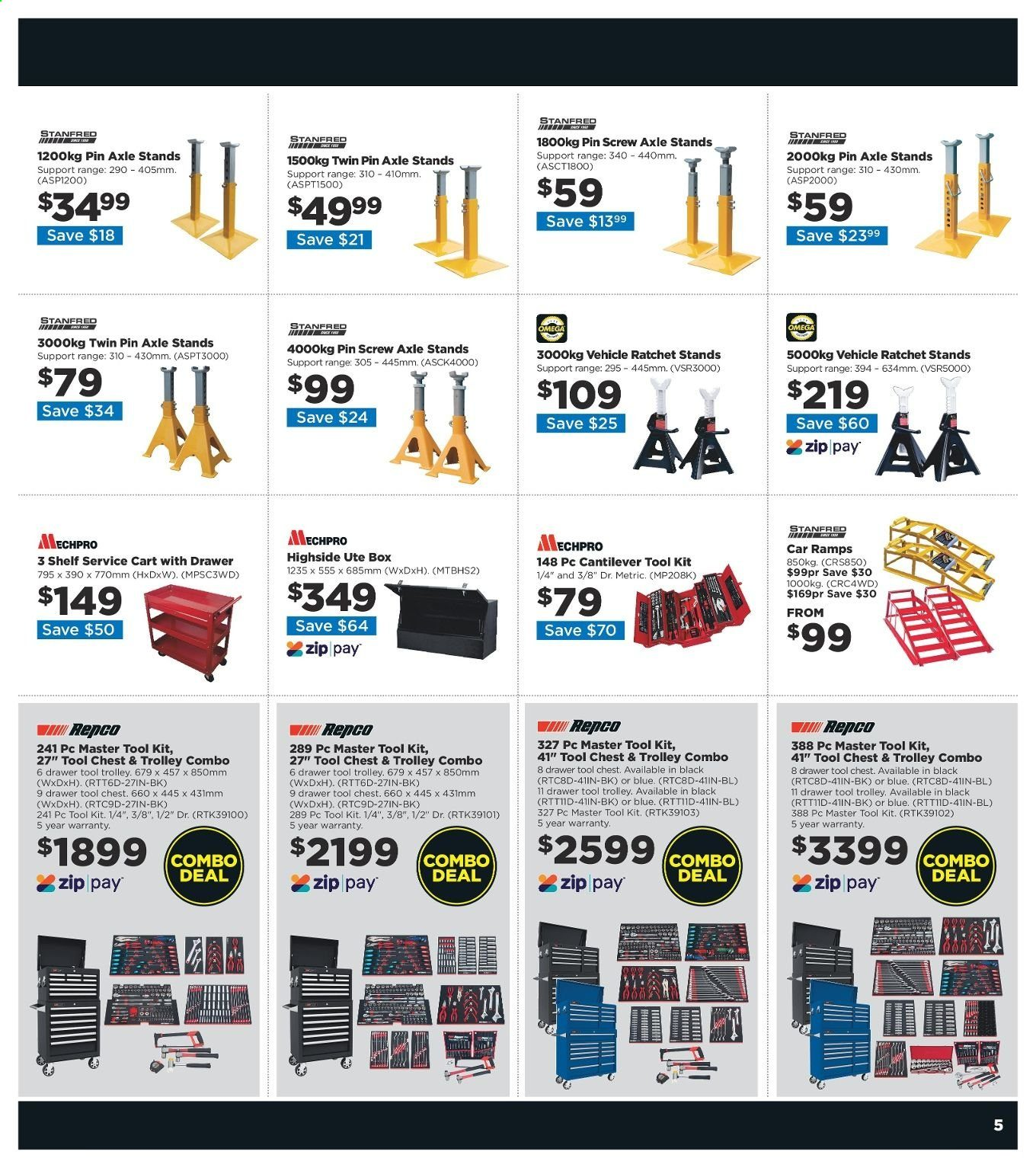 Repco catalogue  - 20.6.2019 - 30.6.2019. Page 5.
