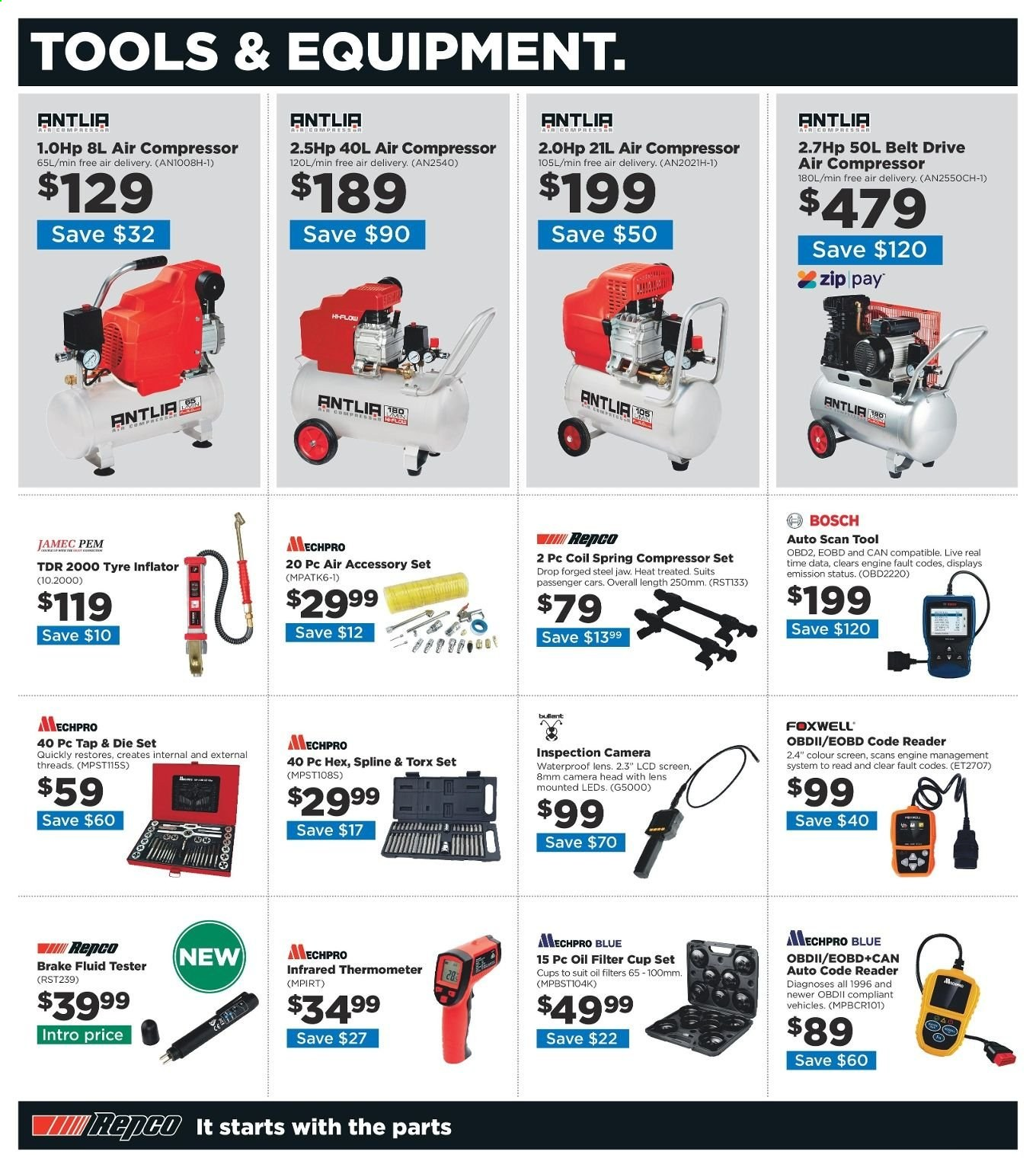 Repco catalogue  - 20.6.2019 - 30.6.2019. Page 6.