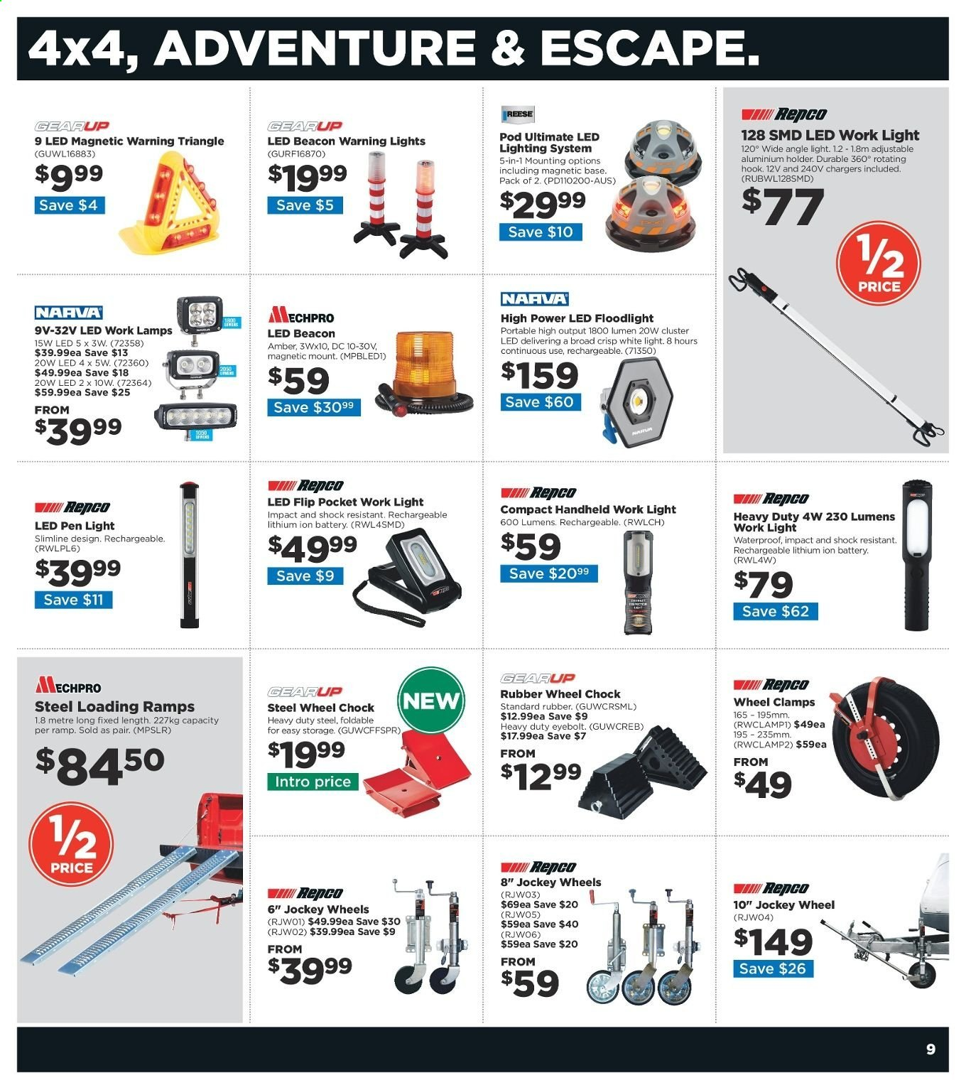 Repco catalogue  - 20.6.2019 - 30.6.2019. Page 9.