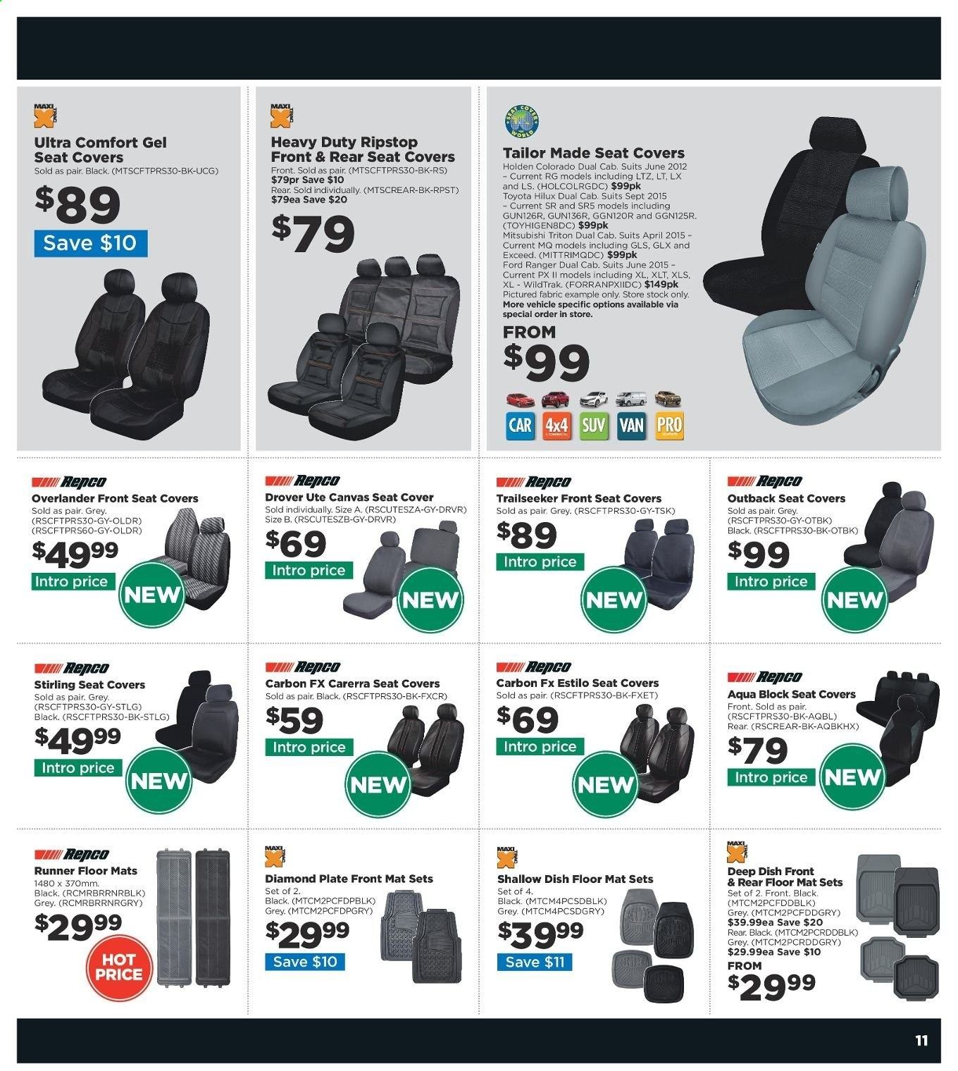 Repco catalogue  - 20.6.2019 - 30.6.2019. Page 11.