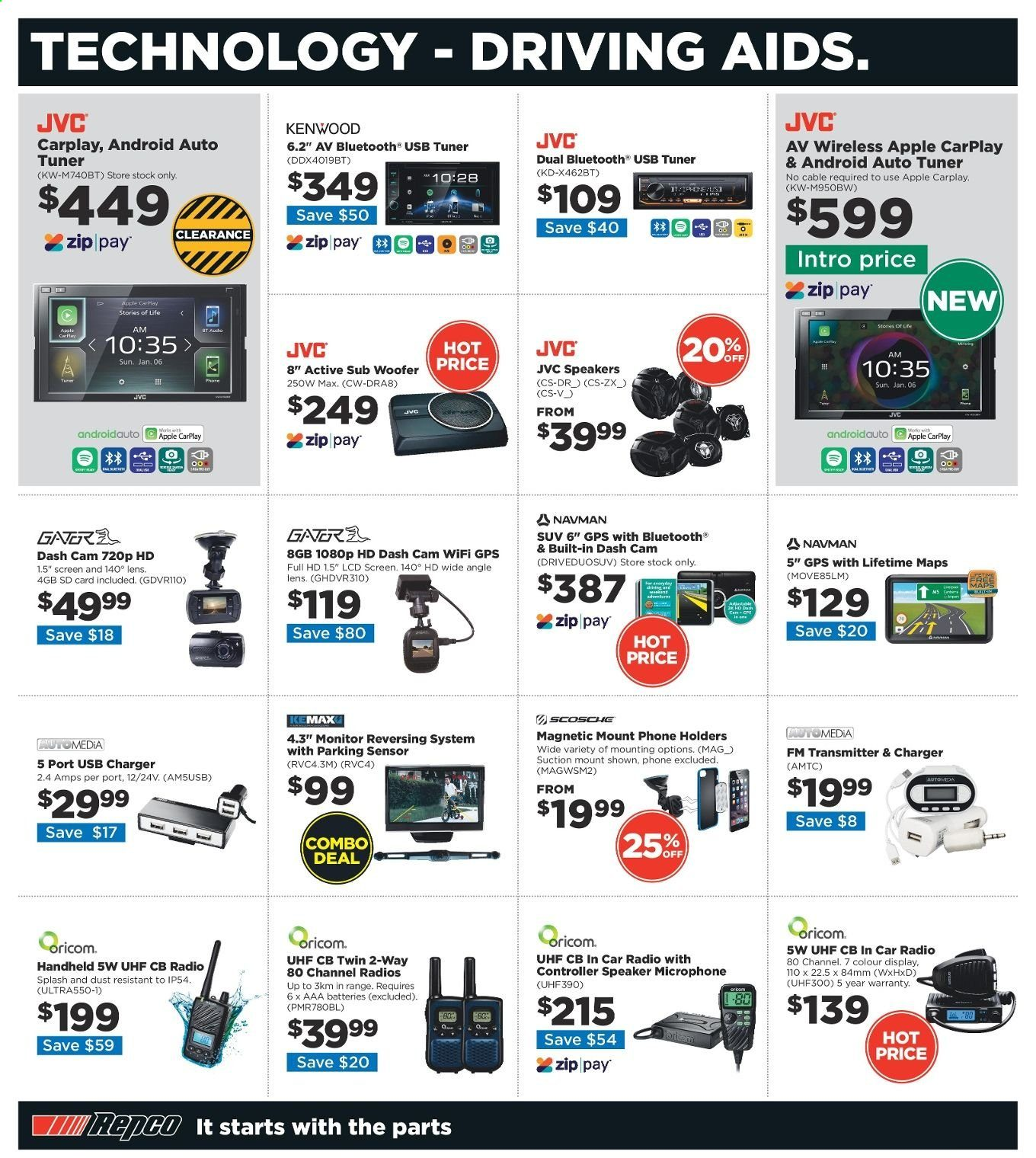 Repco catalogue  - 20.6.2019 - 30.6.2019. Page 12.