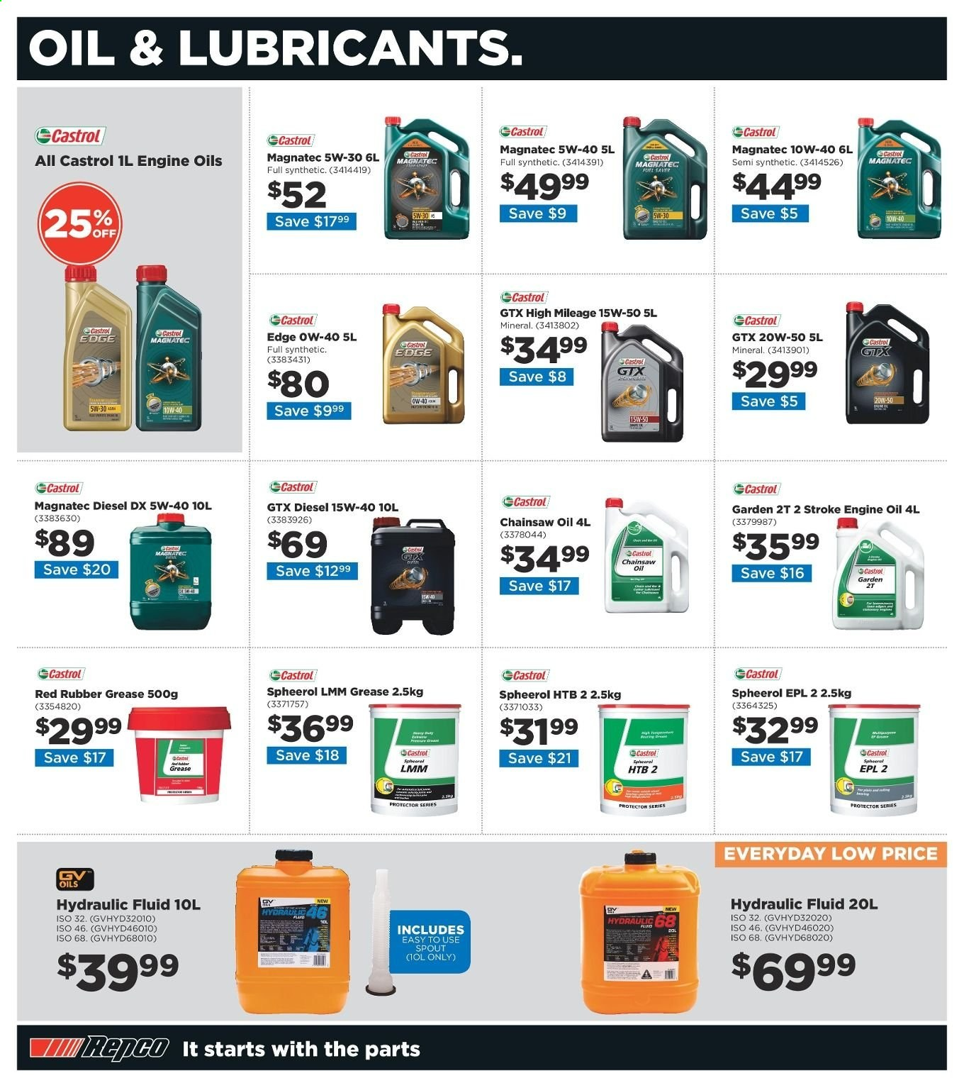 Repco catalogue  - 20.6.2019 - 30.6.2019. Page 16.