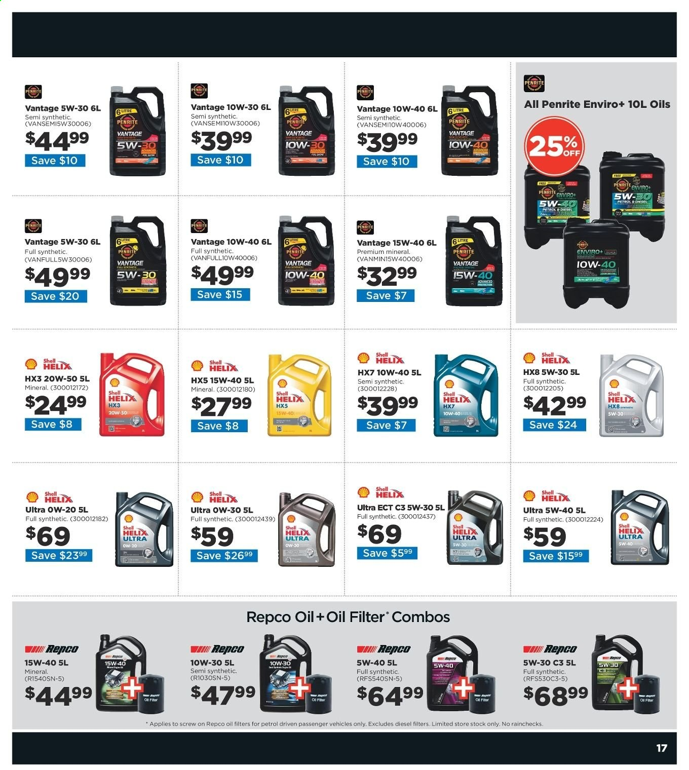 Repco catalogue  - 20.6.2019 - 30.6.2019. Page 17.