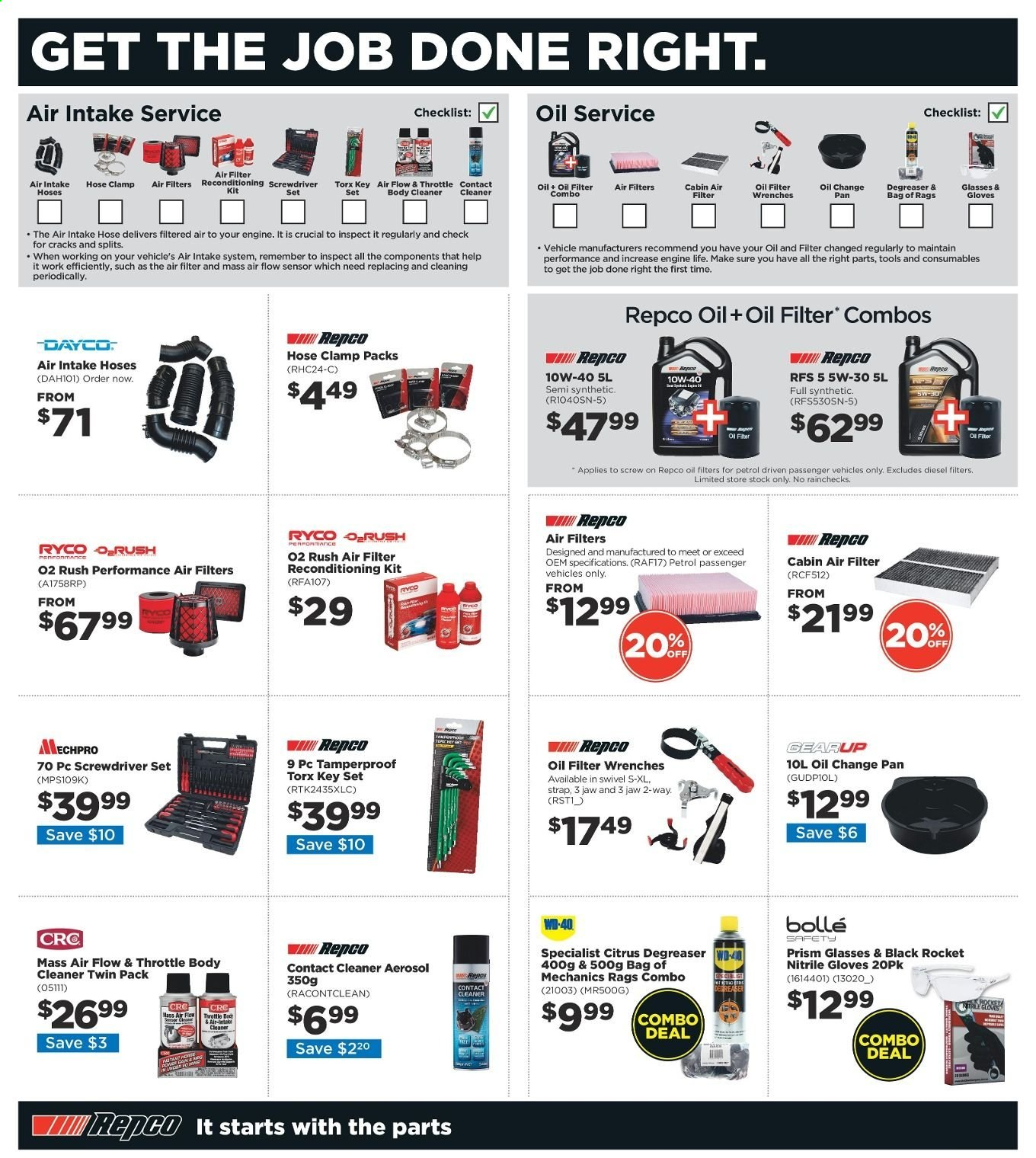 Repco catalogue  - 20.6.2019 - 30.6.2019. Page 18.