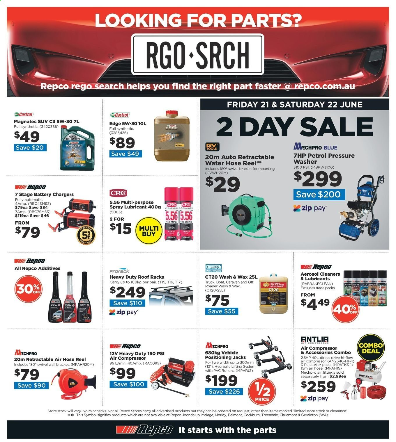 Repco catalogue  - 20.6.2019 - 30.6.2019. Page 20.
