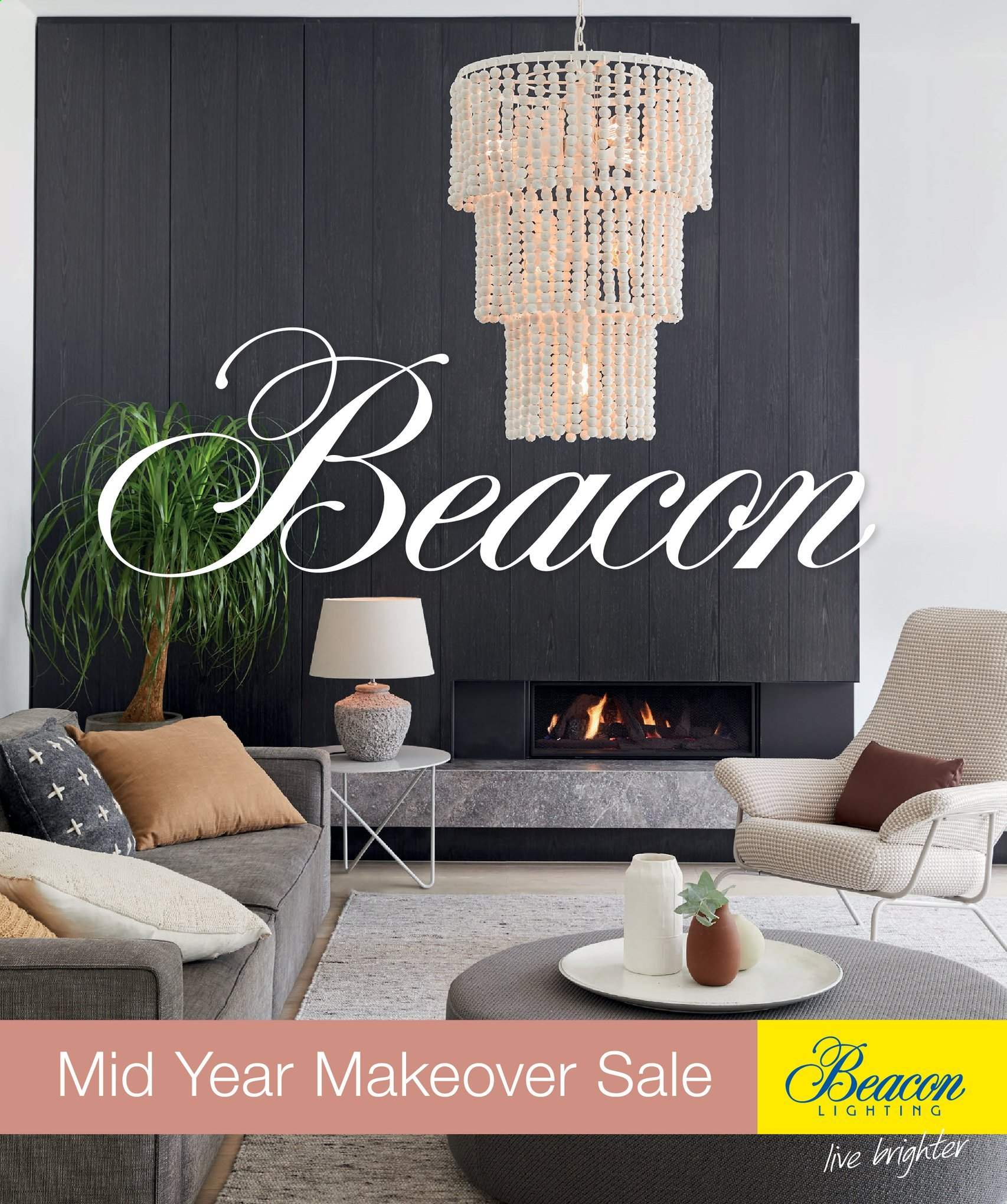 Beacon Lighting catalogue . Page 1.