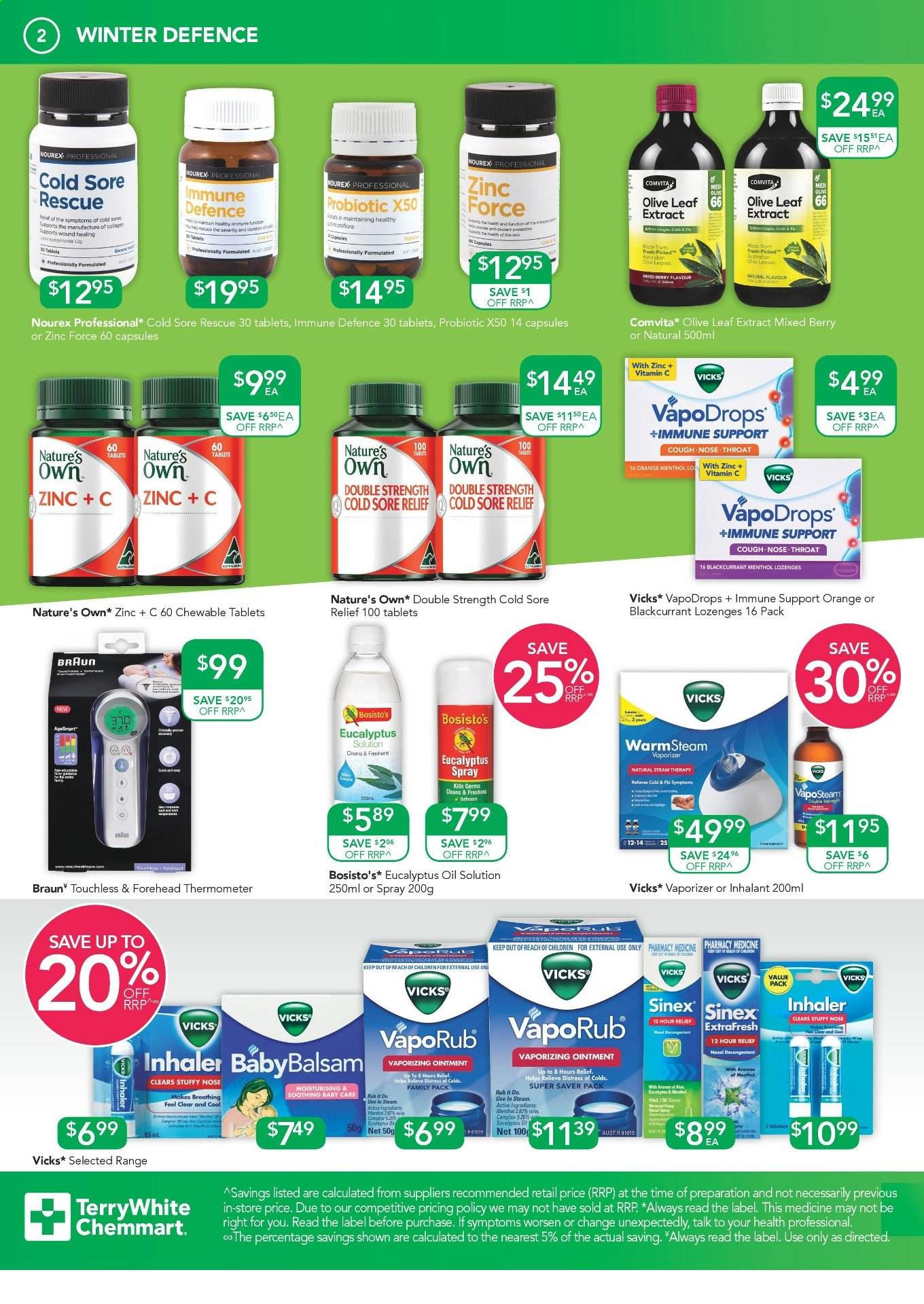 TerryWhite Chemmart catalogue  - 11.7.2019 - 30.7.2019. Page 2.