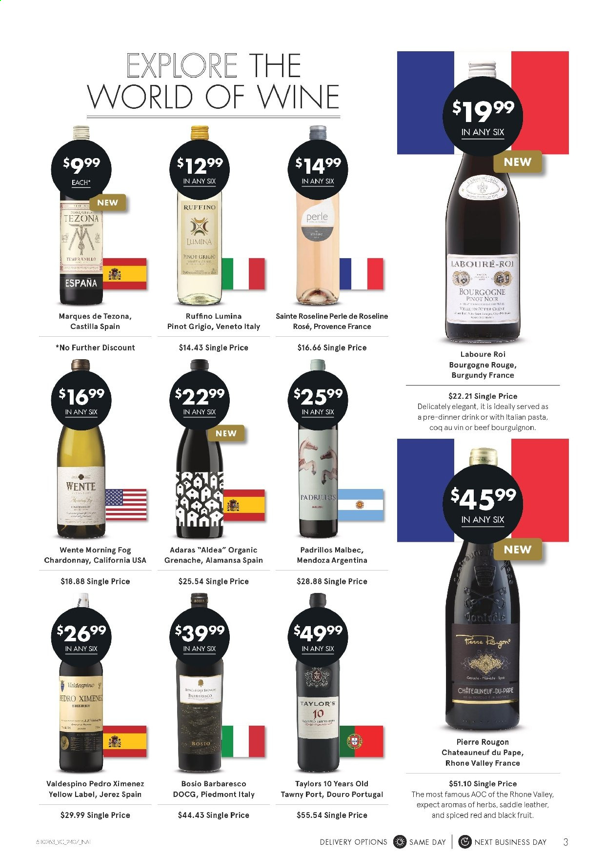 Vintage Cellars catalogue  - 24.7.2019 - 6.8.2019. Page 3.