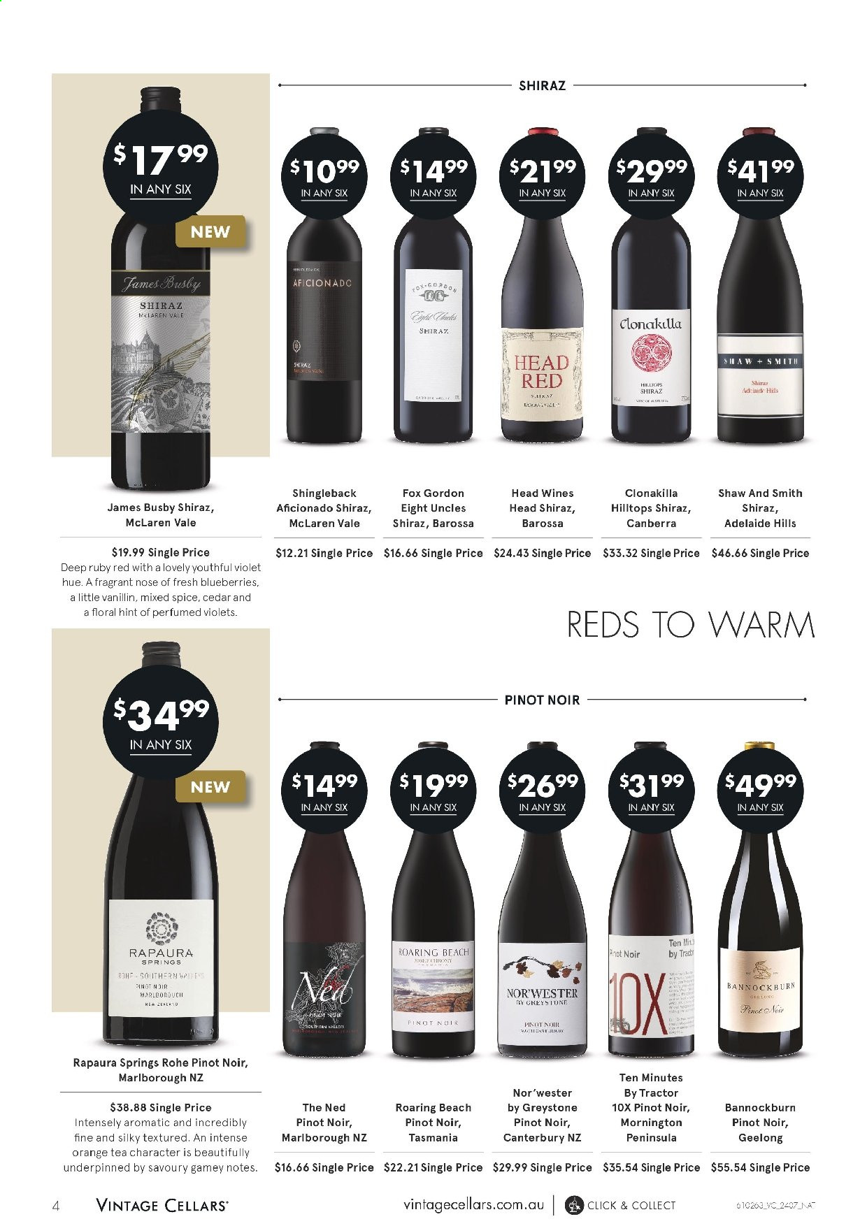 Vintage Cellars catalogue  - 24.7.2019 - 6.8.2019. Page 4.