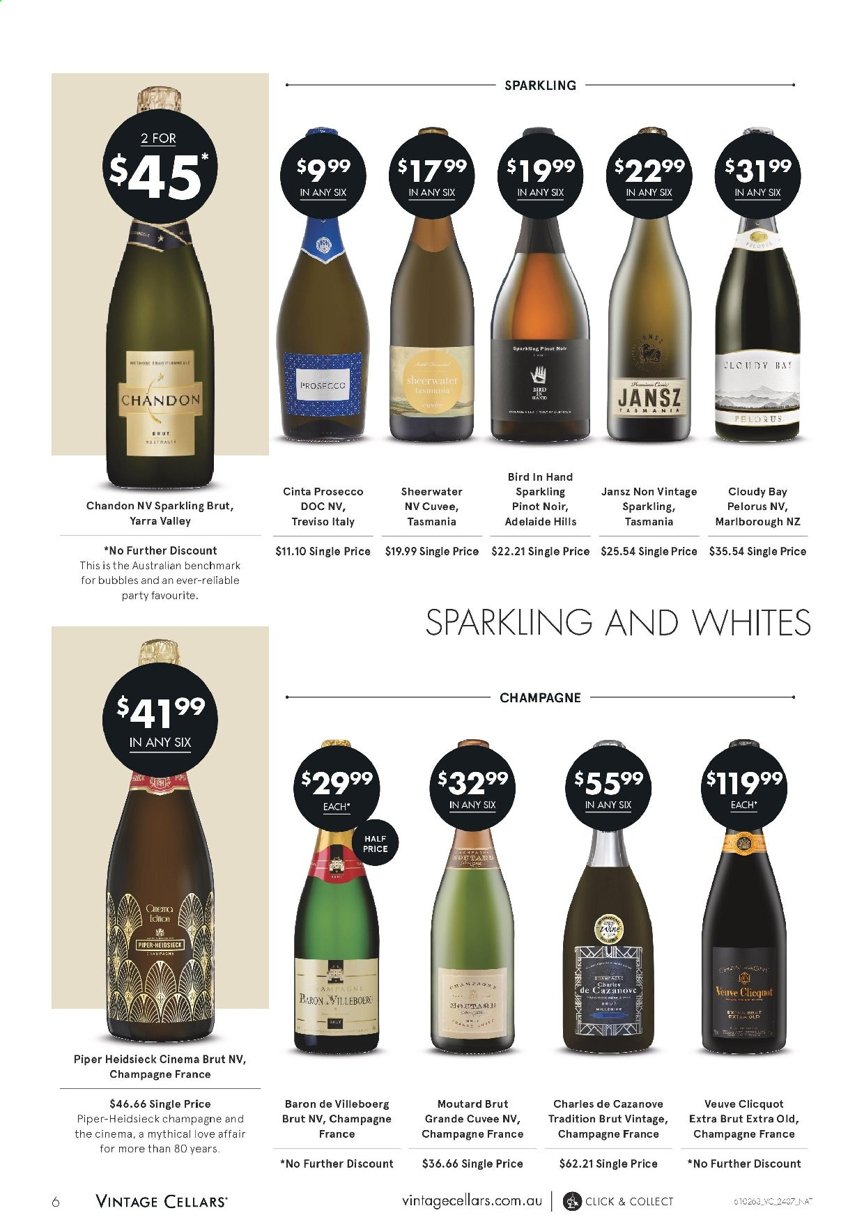 Vintage Cellars catalogue  - 24.7.2019 - 6.8.2019. Page 6.