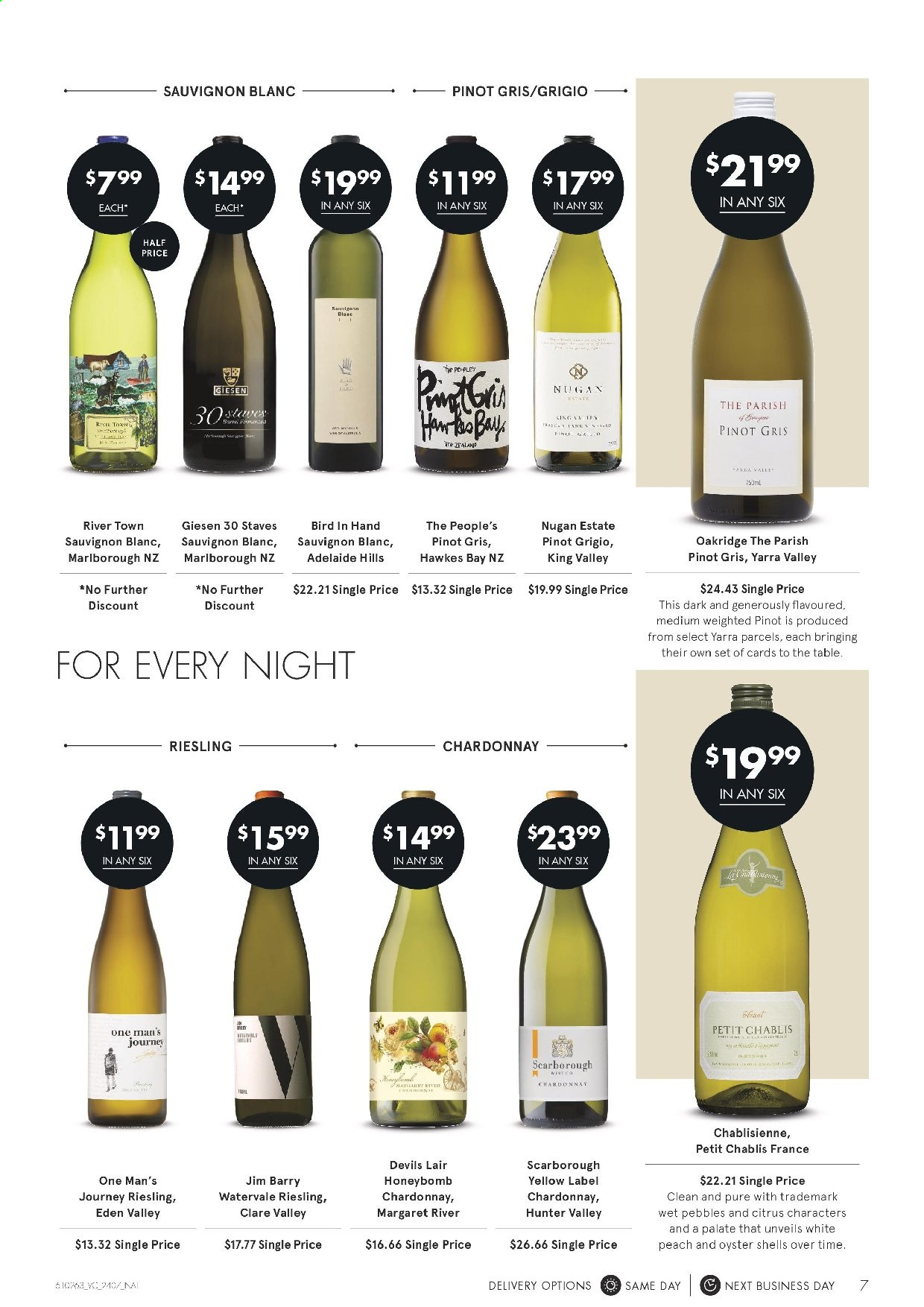 Vintage Cellars catalogue  - 24.7.2019 - 6.8.2019. Page 7.