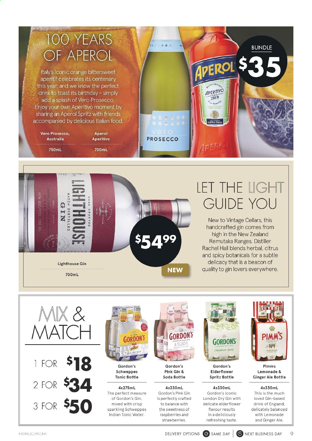 Vintage Cellars catalogue  - 24.7.2019 - 6.8.2019. Page 9.
