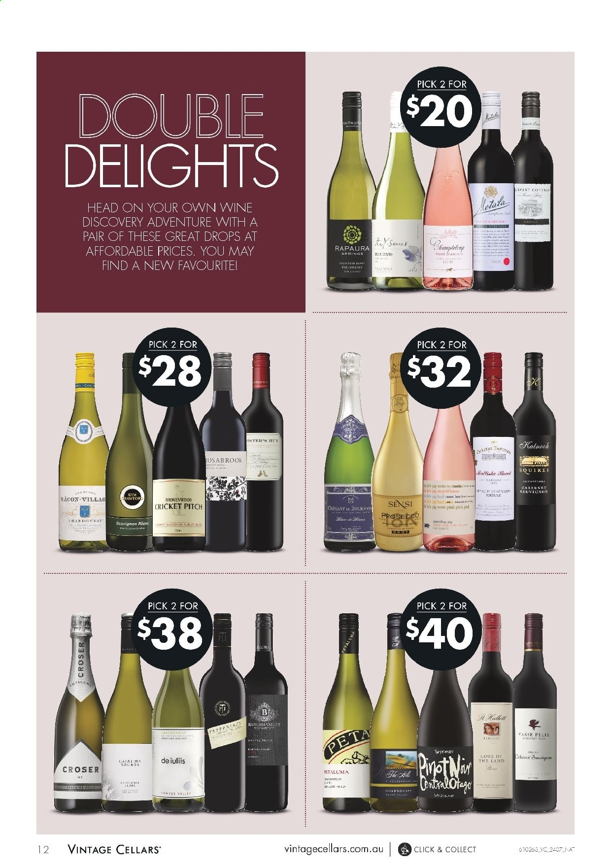 Vintage Cellars catalogue  - 24.7.2019 - 6.8.2019. Page 12.