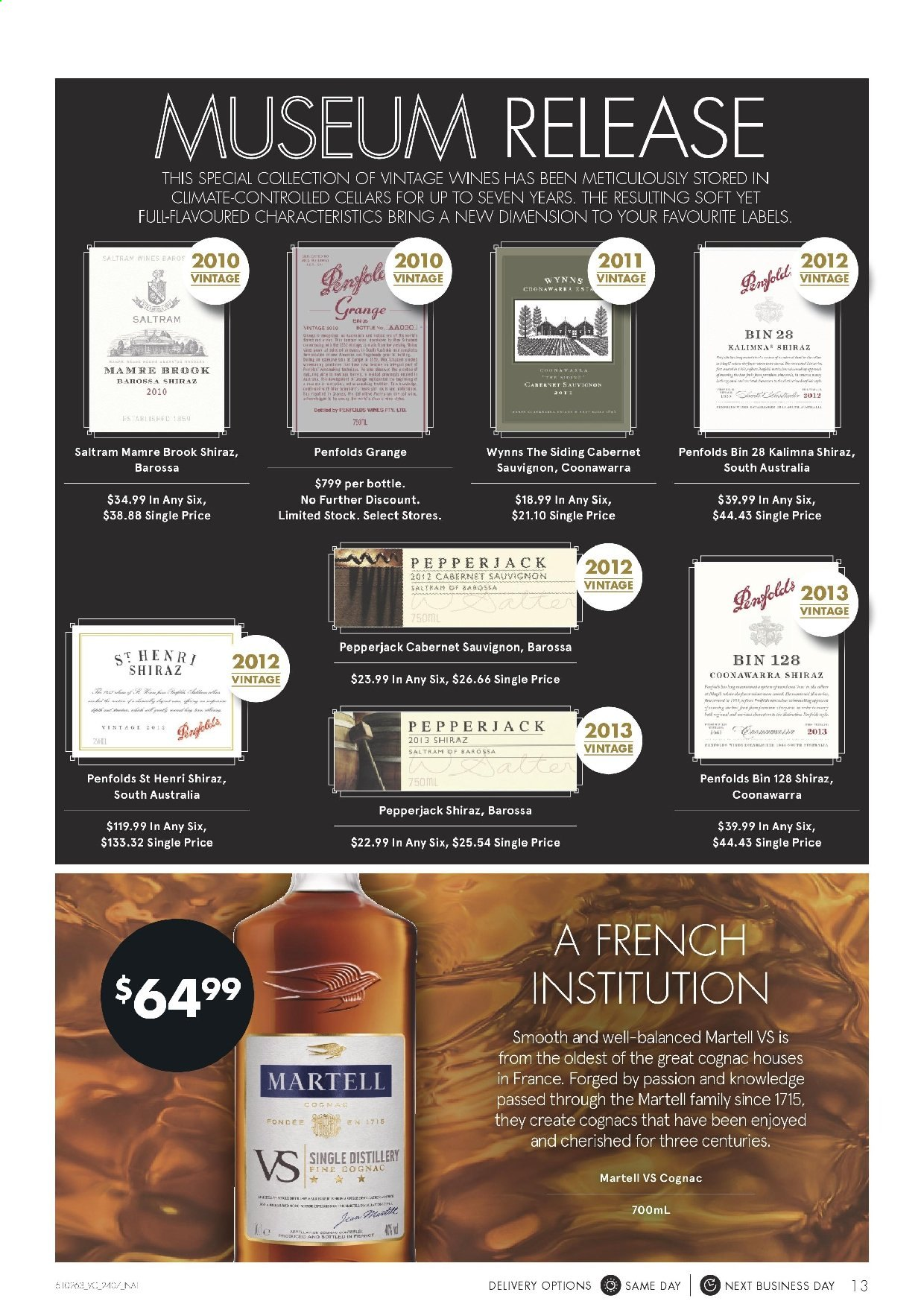 Vintage Cellars catalogue  - 24.7.2019 - 6.8.2019. Page 13.