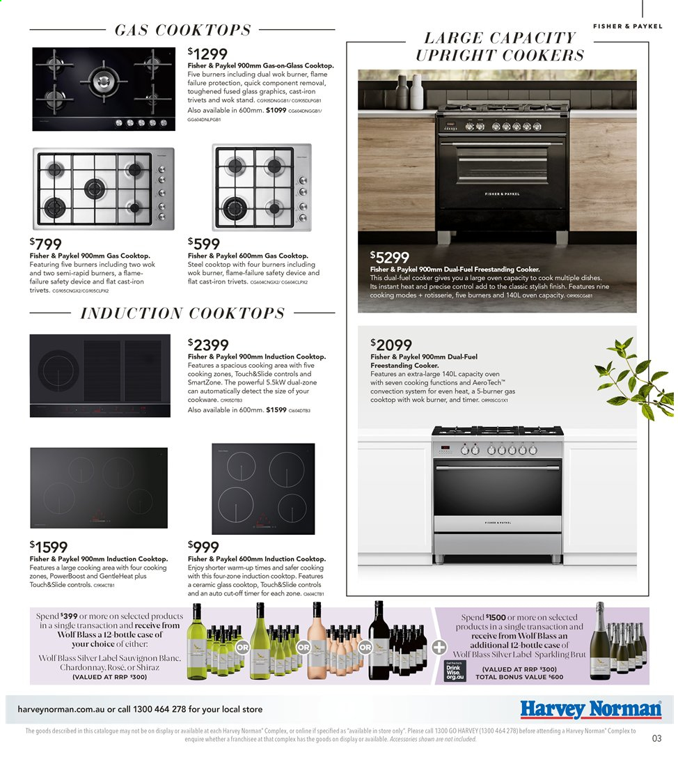 Harvey Norman catalogue  - 26.7.2019 - 25.8.2019. Page 3.