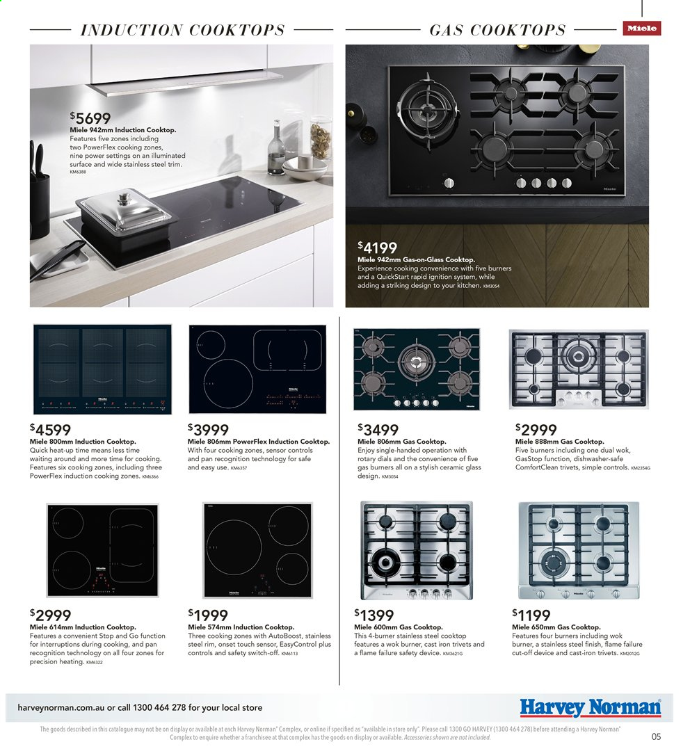 Harvey Norman catalogue  - 26.7.2019 - 25.8.2019. Page 5.