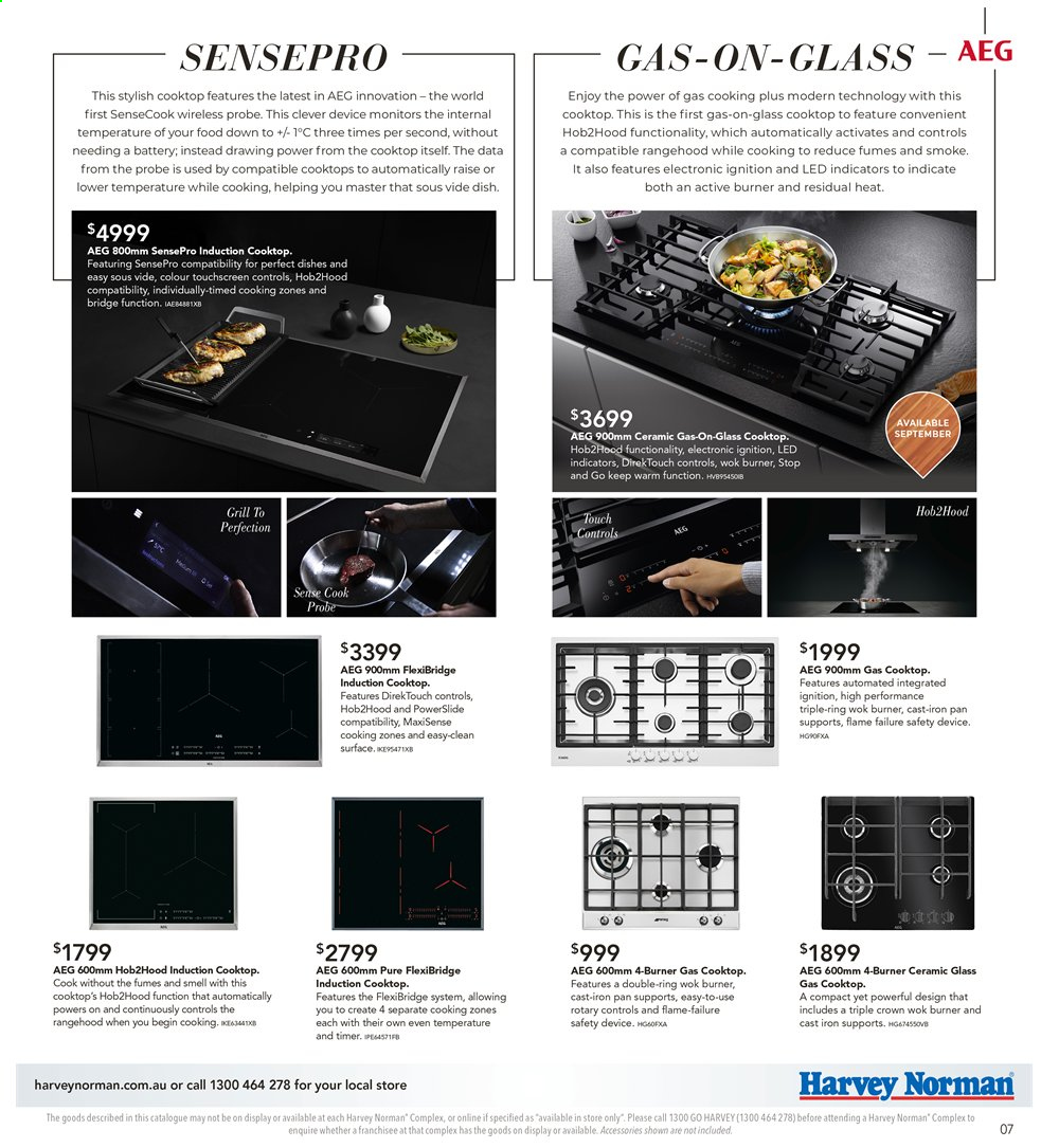 Harvey Norman catalogue  - 26.7.2019 - 25.8.2019. Page 7.