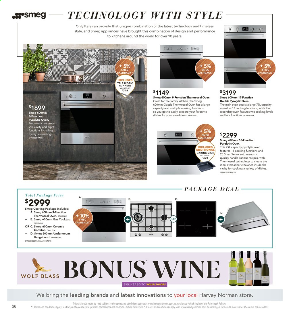 Harvey Norman catalogue  - 26.7.2019 - 25.8.2019. Page 8.