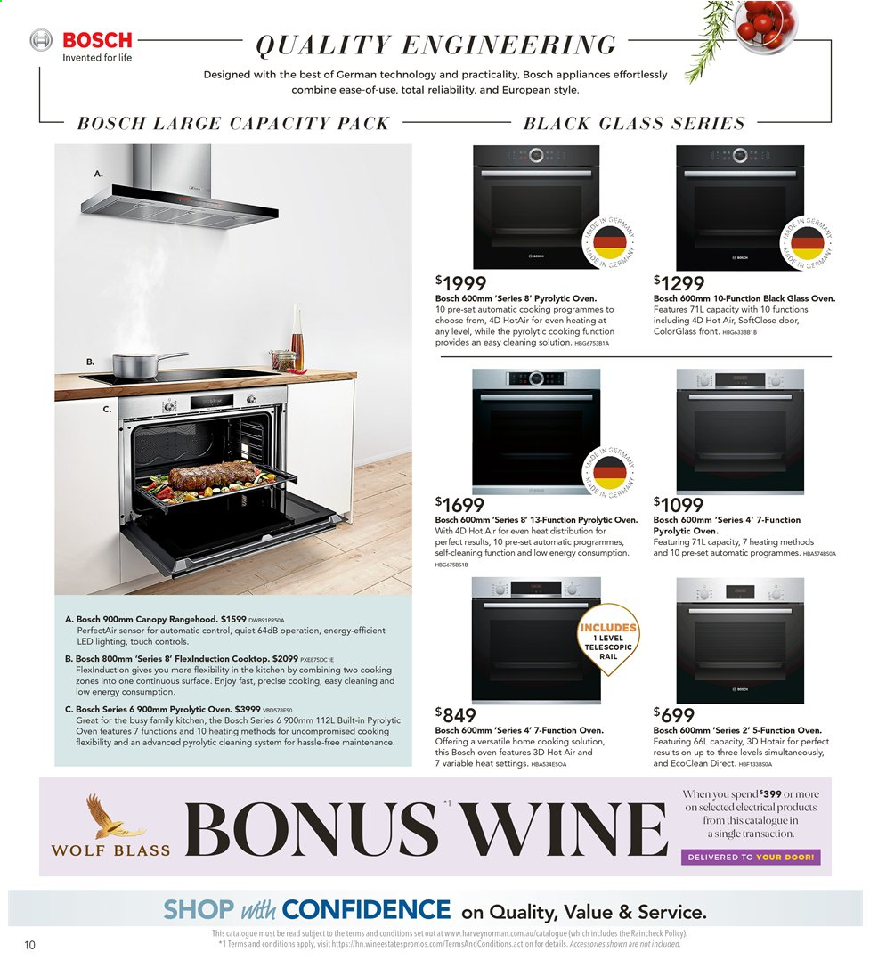 Harvey Norman catalogue  - 26.7.2019 - 25.8.2019. Page 10.