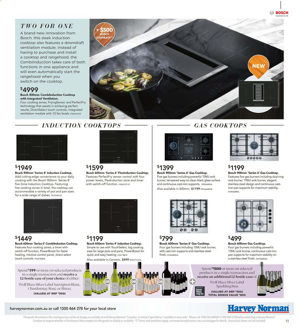 Harvey Norman catalogue  - 26.7.2019 - 25.8.2019. Page 11.