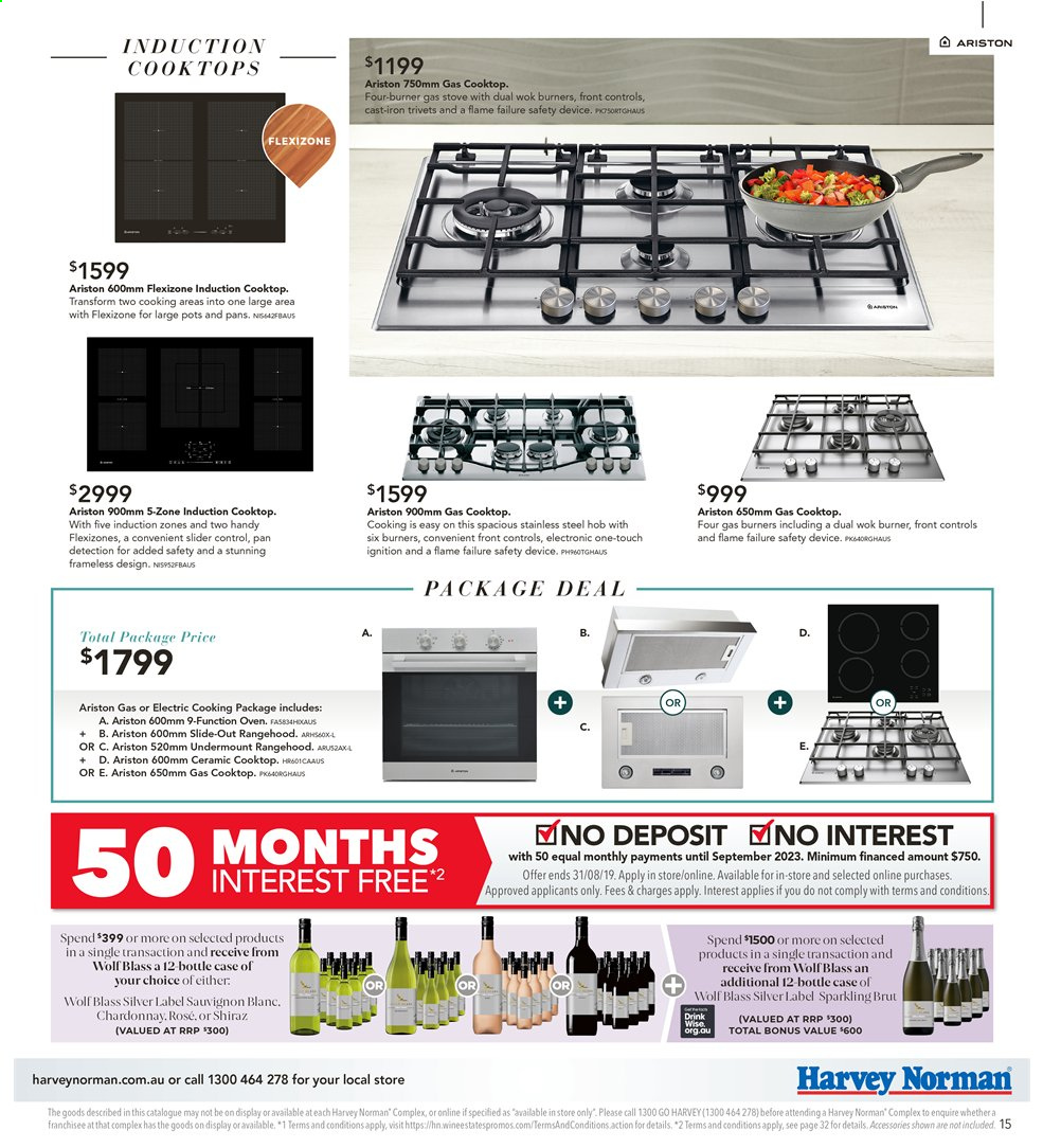 Harvey Norman catalogue  - 26.7.2019 - 25.8.2019. Page 15.