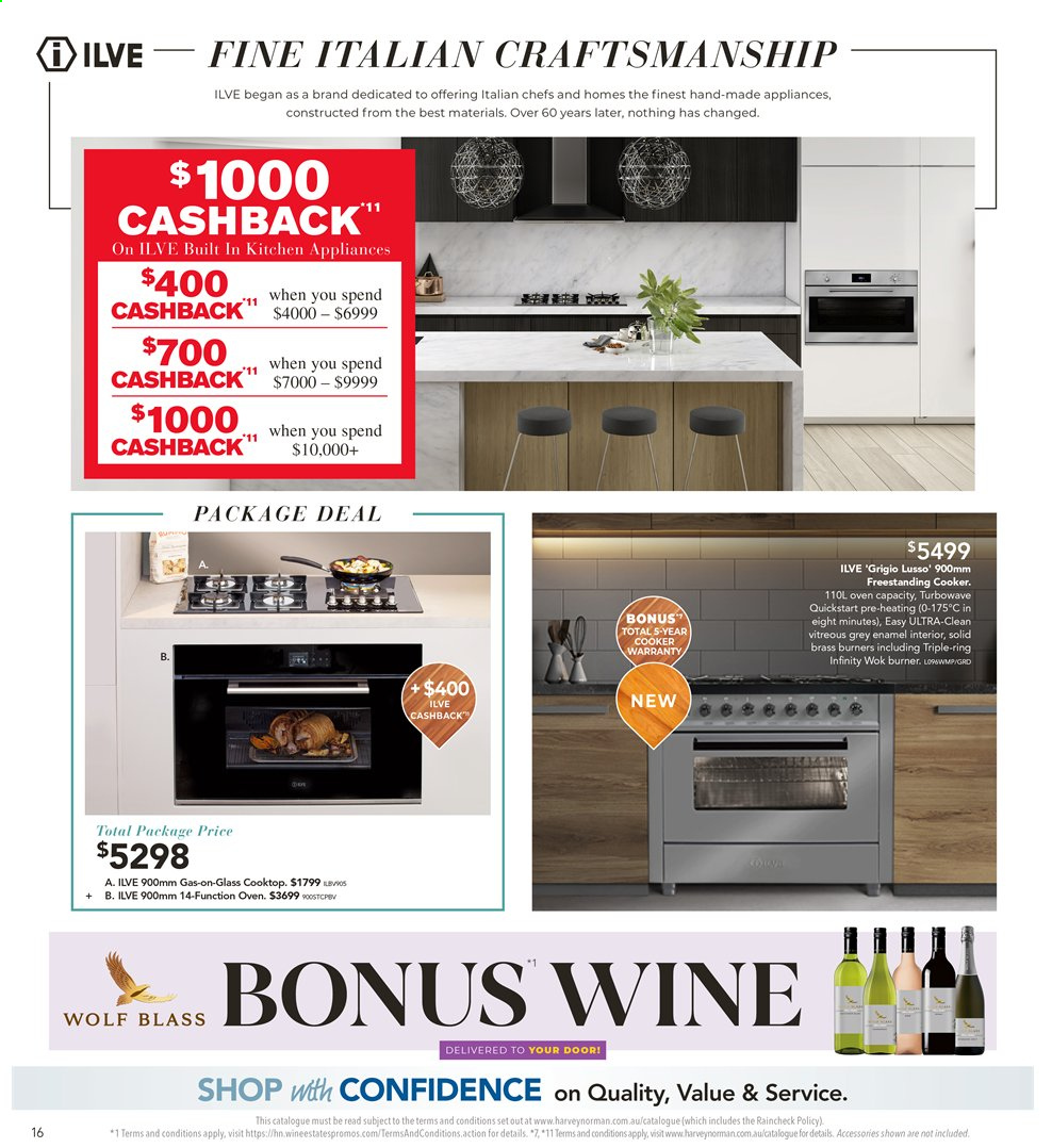 Harvey Norman catalogue  - 26.7.2019 - 25.8.2019. Page 16.
