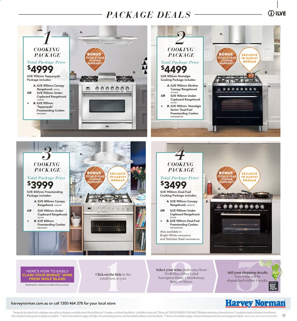 Harvey Norman catalogue  - 26.7.2019 - 25.8.2019. Page 17.