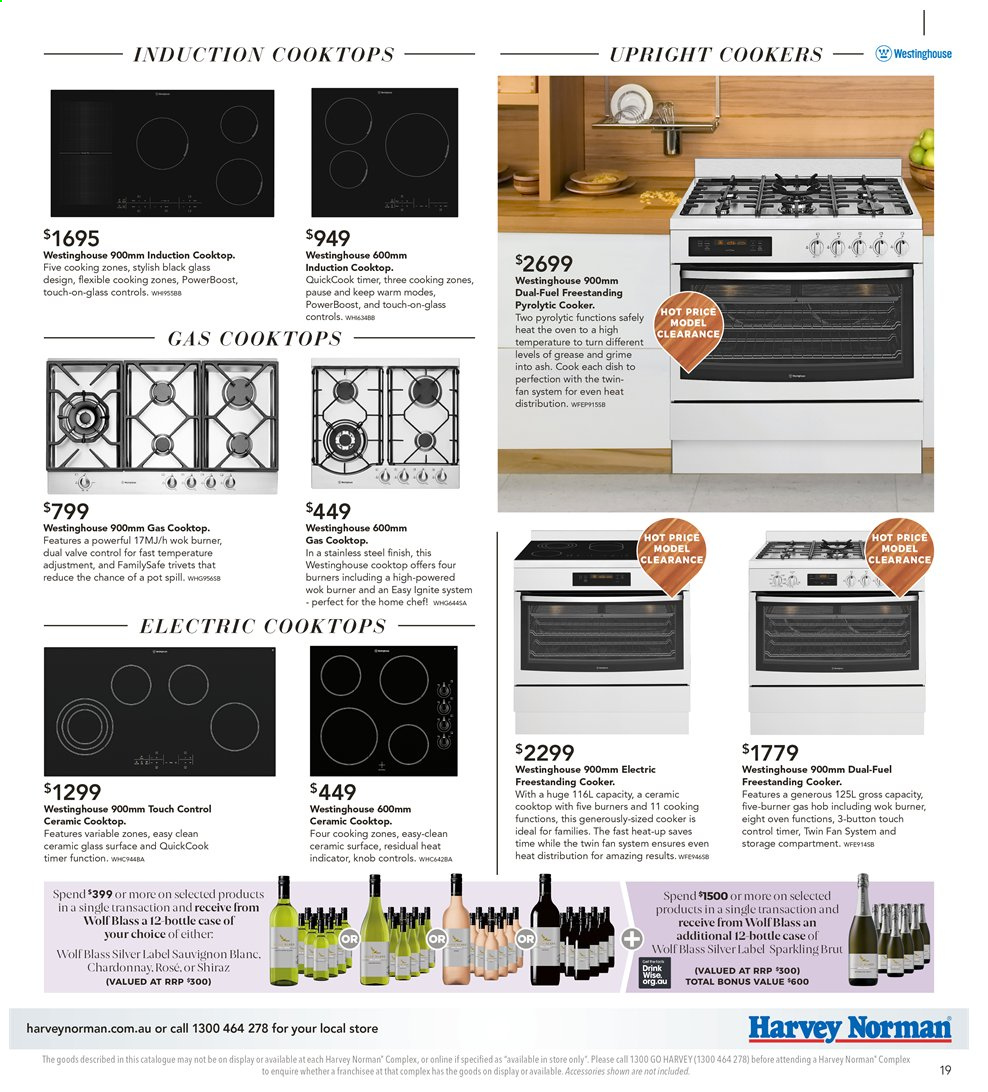 Harvey Norman catalogue  - 26.7.2019 - 25.8.2019. Page 19.