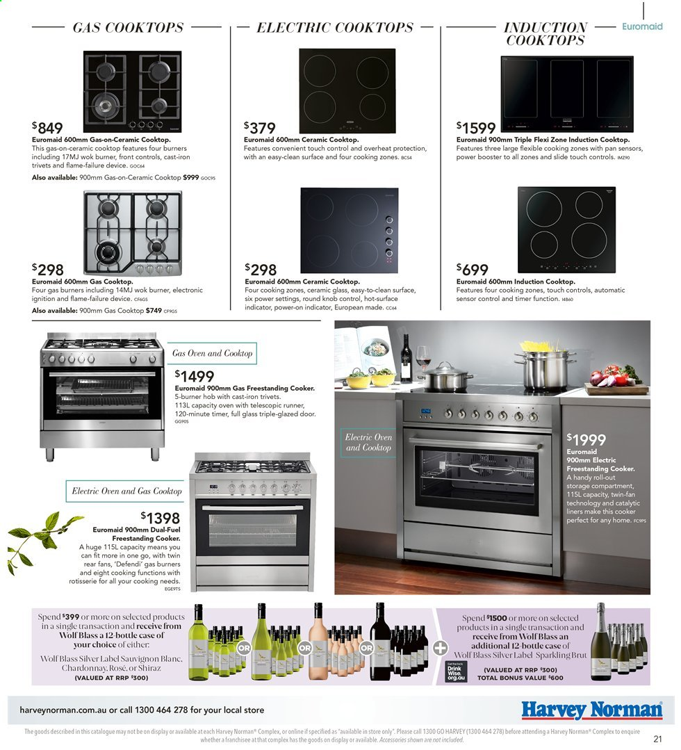 Harvey Norman catalogue  - 26.7.2019 - 25.8.2019. Page 21.