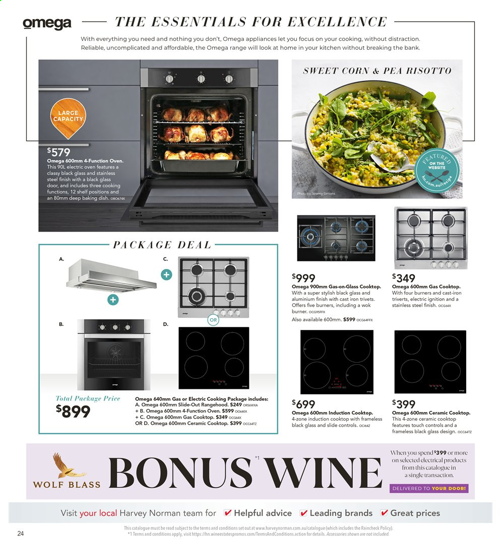 Harvey Norman catalogue  - 26.7.2019 - 25.8.2019. Page 24.