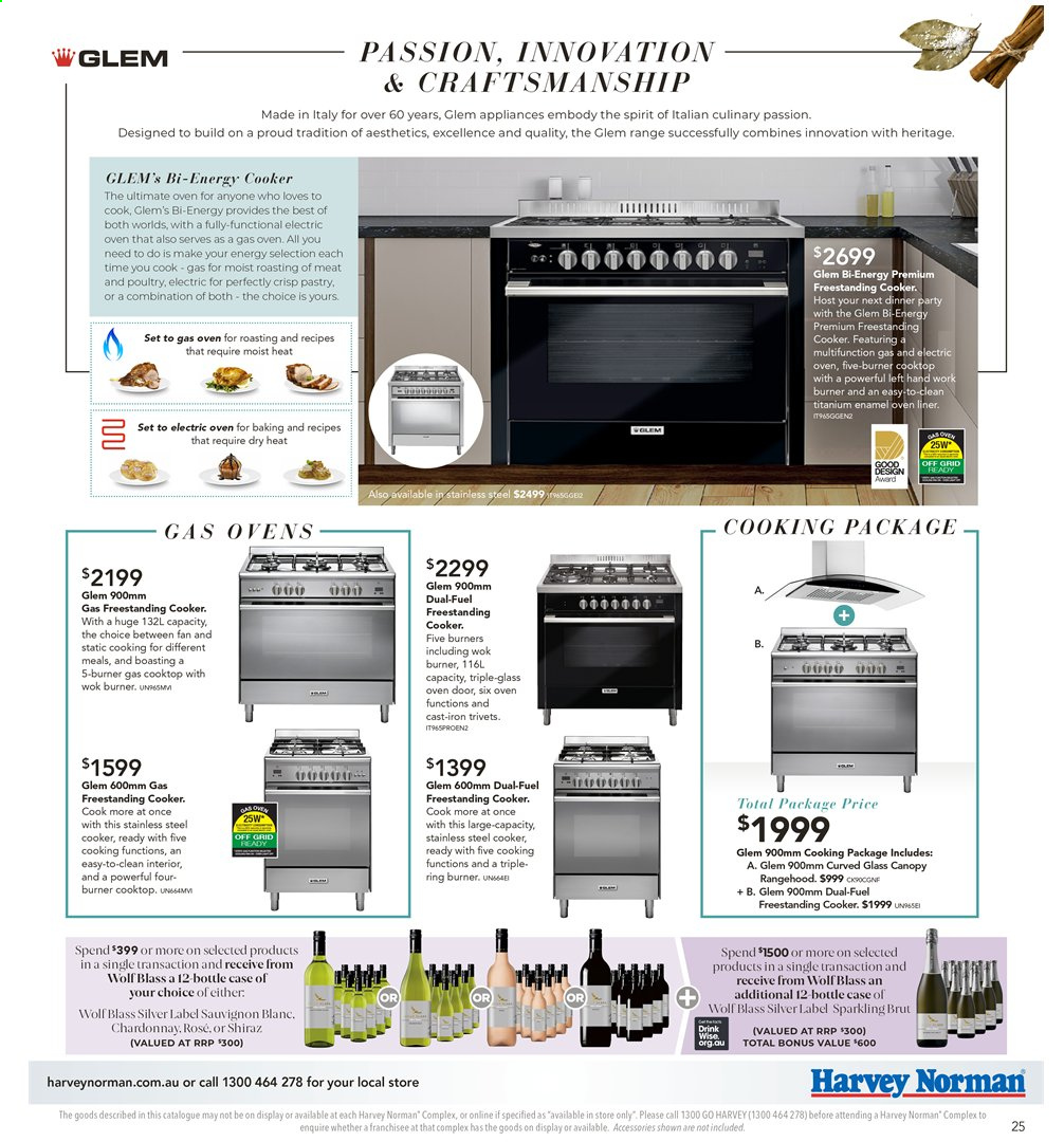 Harvey Norman catalogue  - 26.7.2019 - 25.8.2019. Page 25.