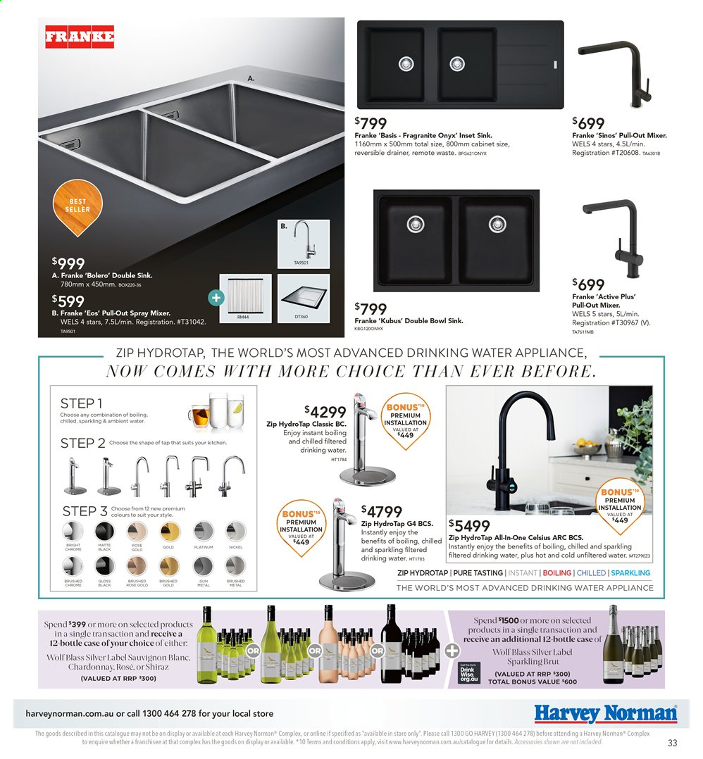 Harvey Norman catalogue  - 26.7.2019 - 25.8.2019. Page 33.
