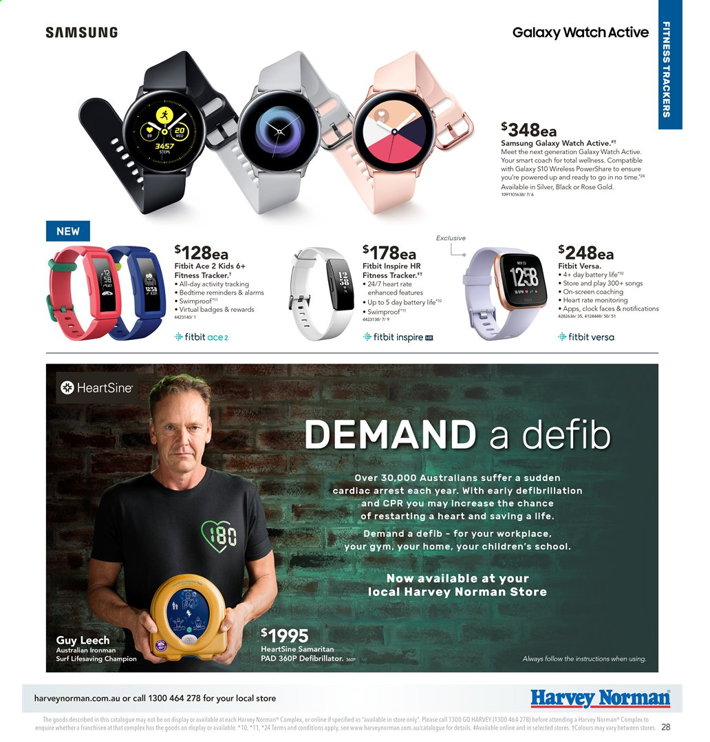 Harvey Norman catalogue  - 2.8.2019 - 18.8.2019. Page 28.