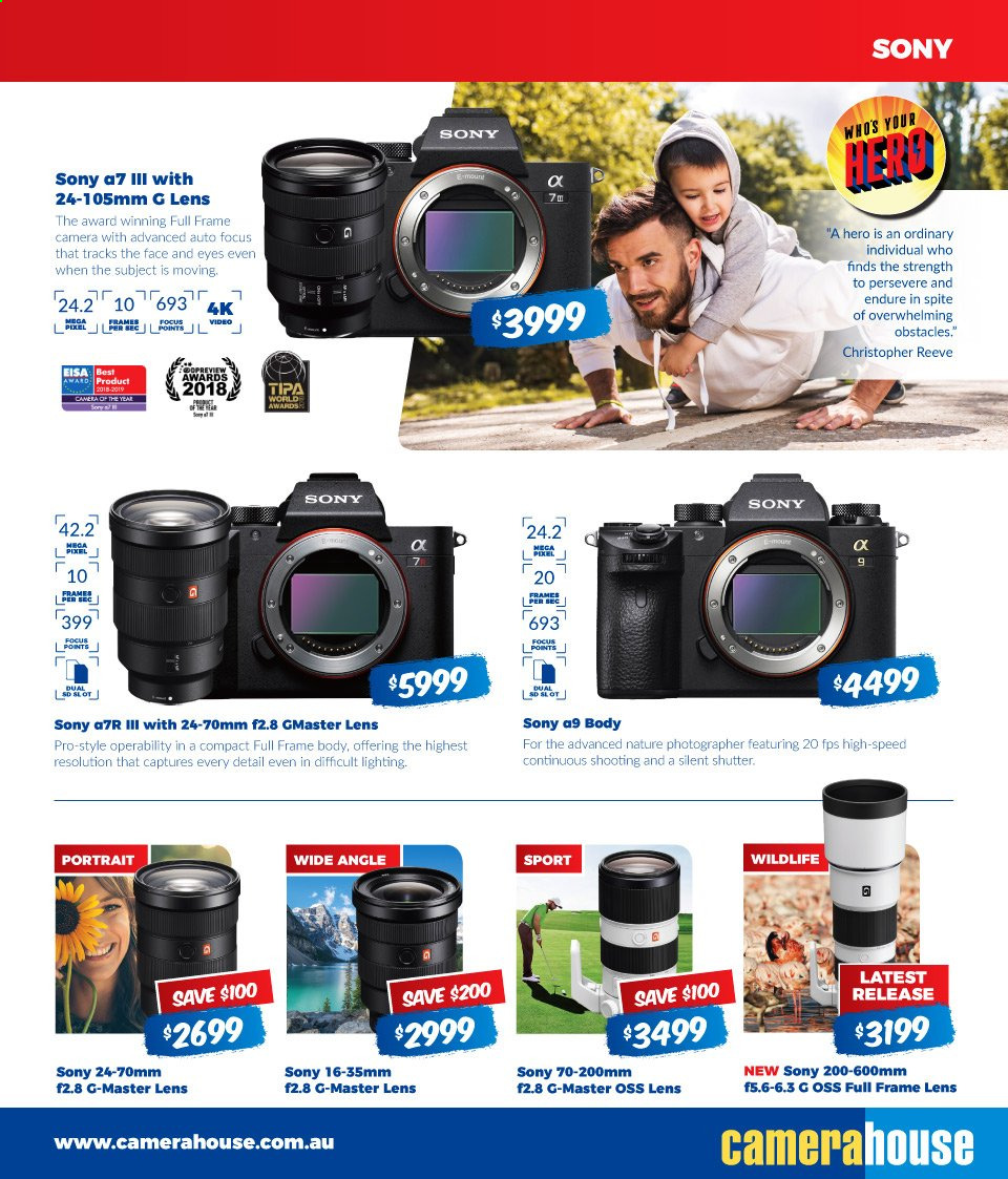 Camera House catalogue  - 5.8.2019 - 1.9.2019. Page 5.