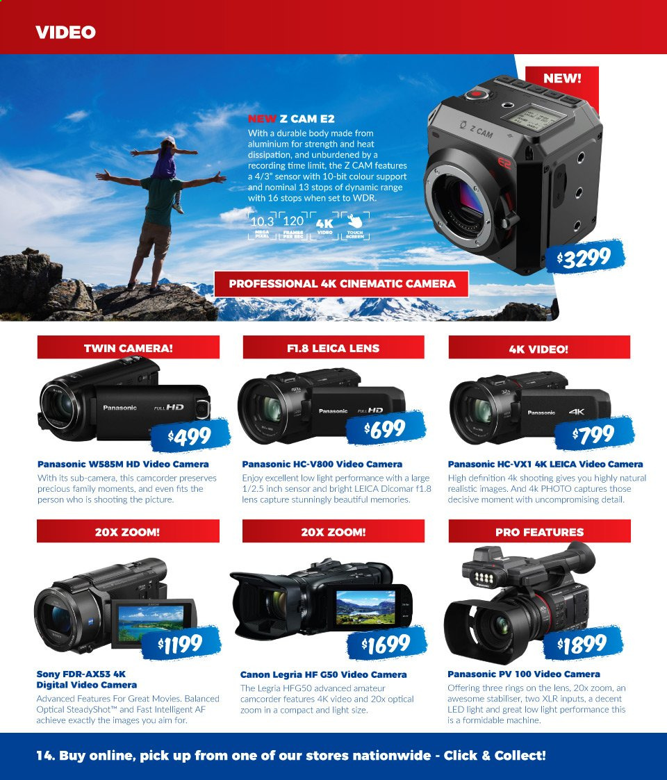 Camera House catalogue  - 5.8.2019 - 1.9.2019. Page 14.