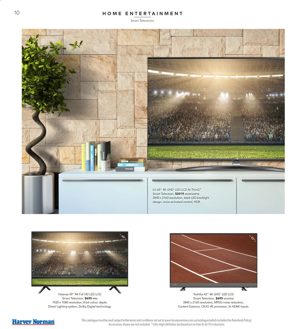 Harvey Norman catalogue  - 16.8.2019 - 1.9.2019. Page 10.