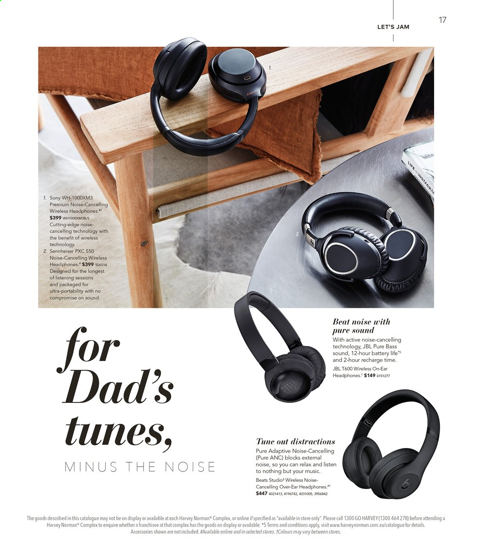Harvey Norman catalogue  - 16.8.2019 - 1.9.2019. Page 17.