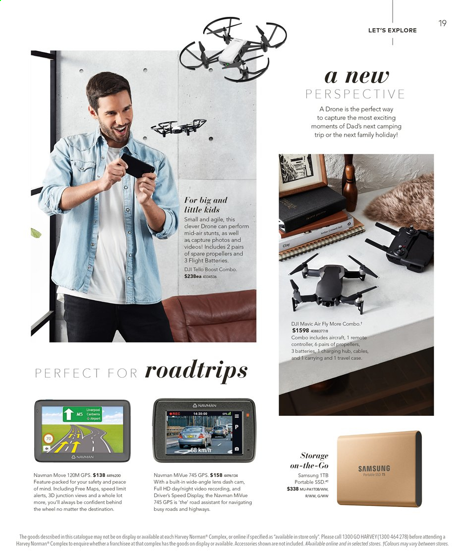 Harvey Norman catalogue  - 16.8.2019 - 1.9.2019. Page 19.