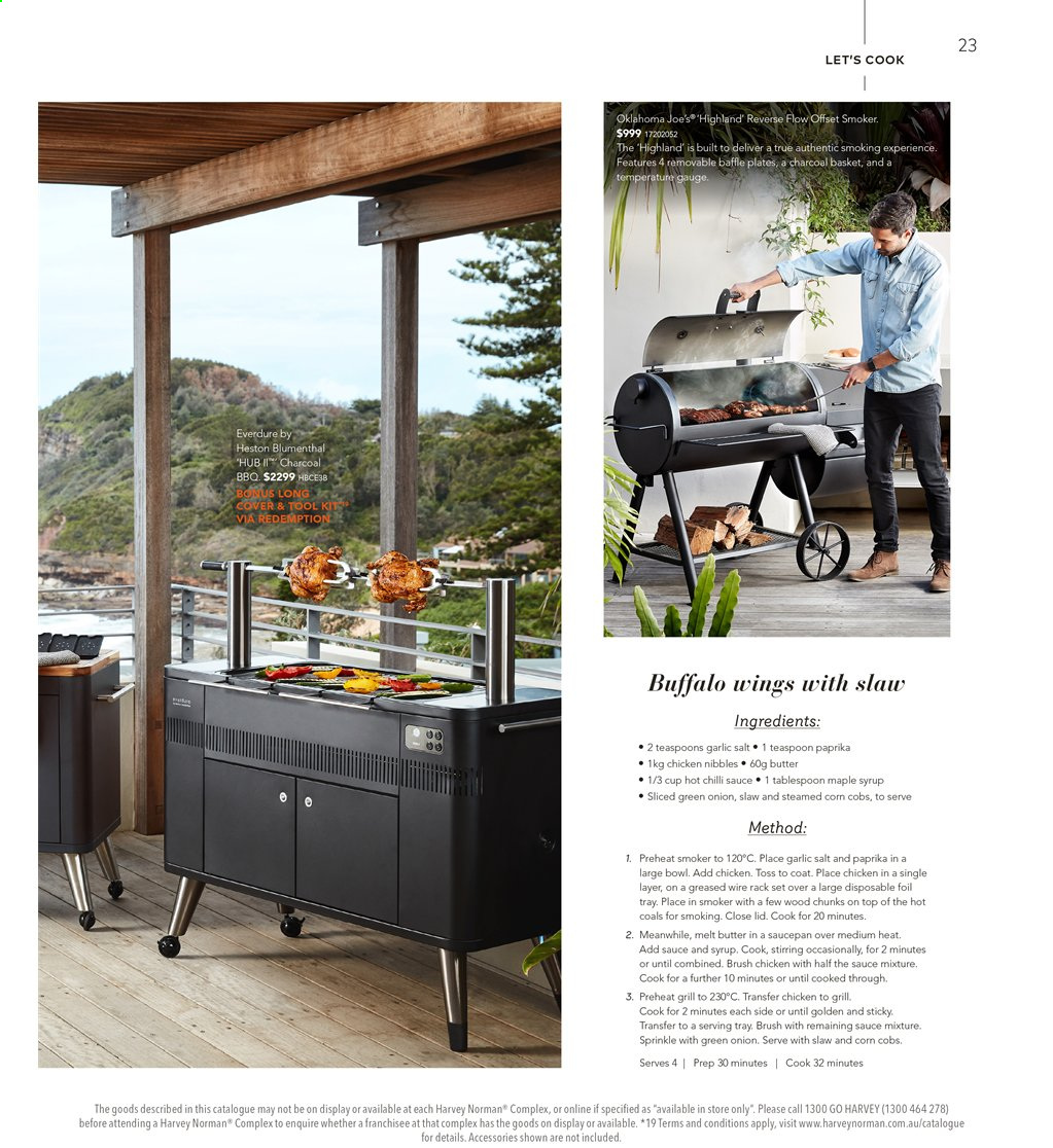 Harvey Norman catalogue  - 16.8.2019 - 1.9.2019. Page 23.