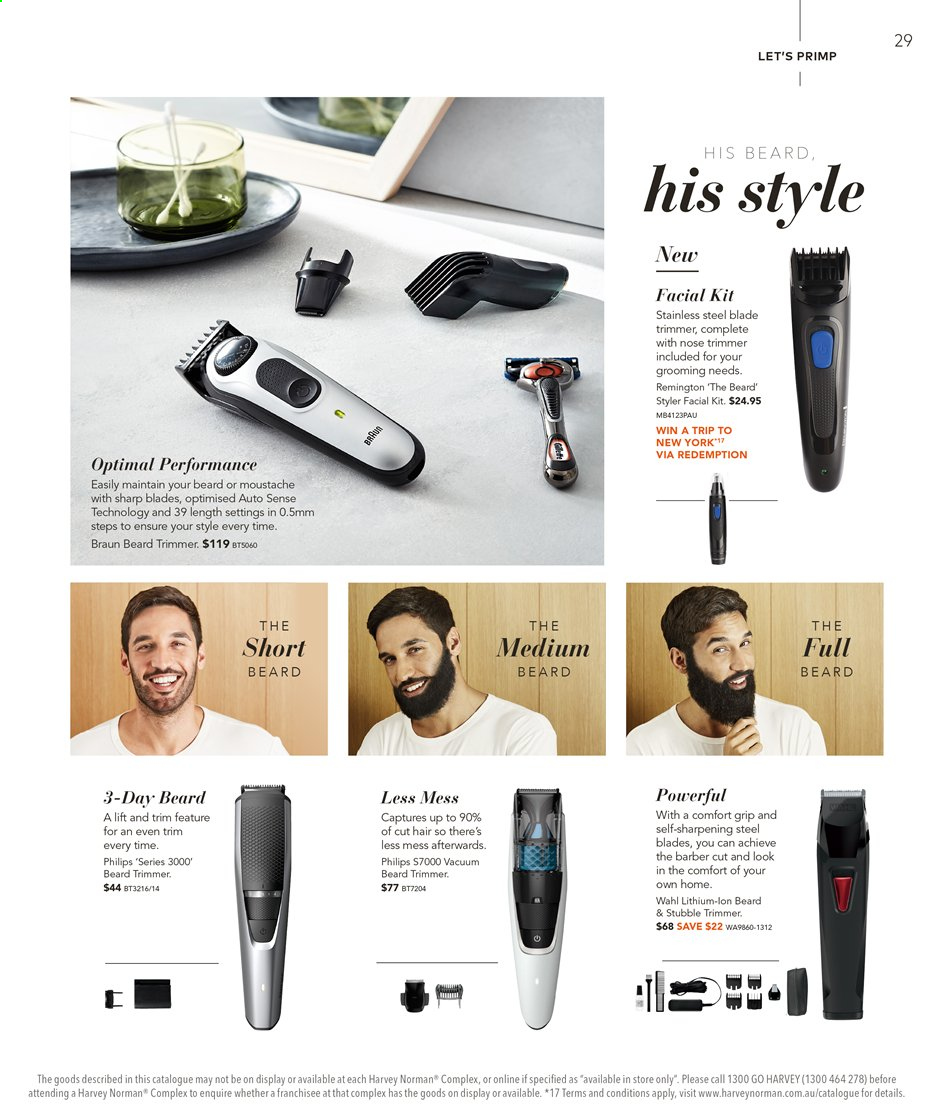 Harvey Norman catalogue  - 16.8.2019 - 1.9.2019. Page 29.