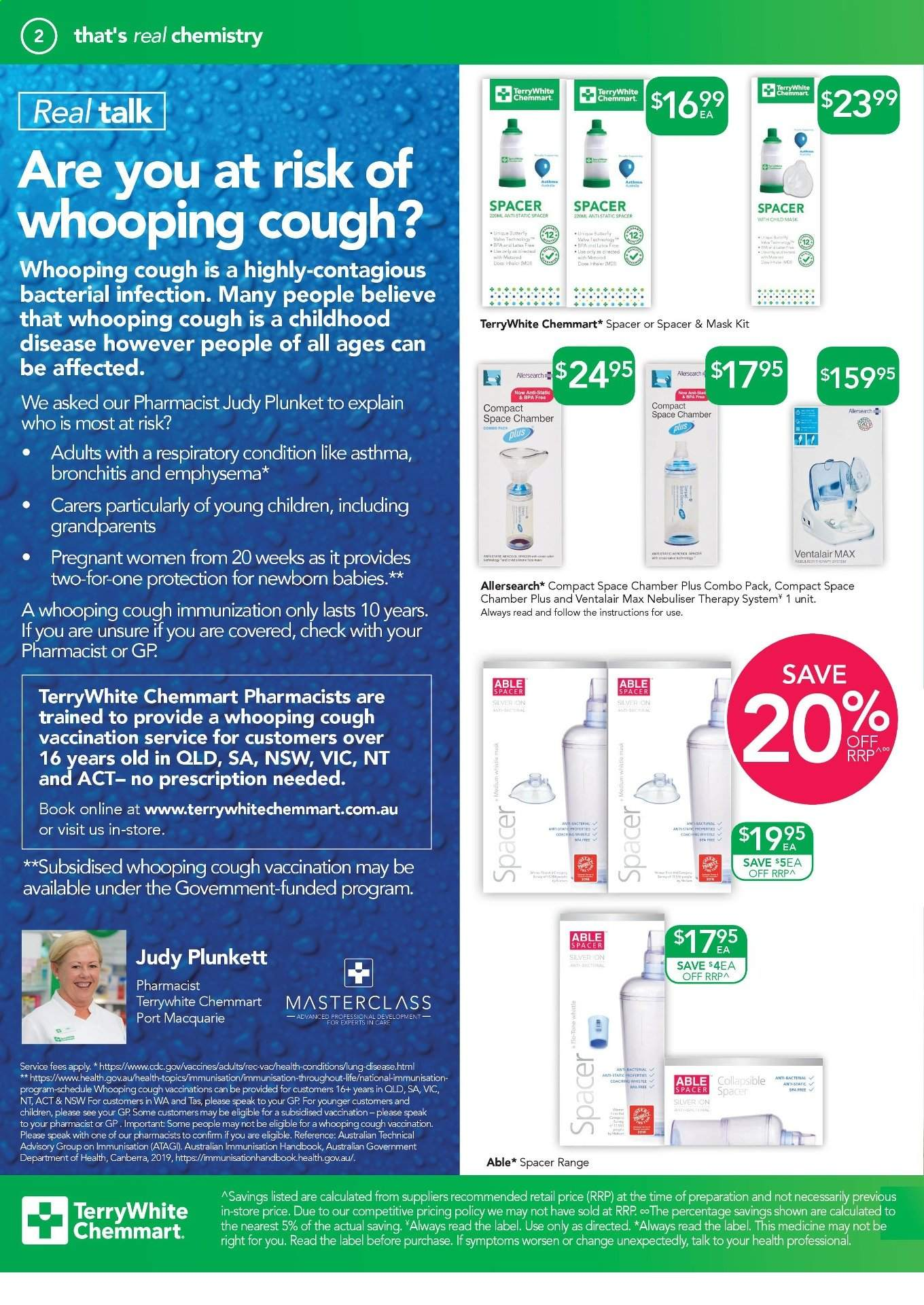TerryWhite Chemmart catalogue  - 22.8.2019 - 10.9.2019. Page 2.