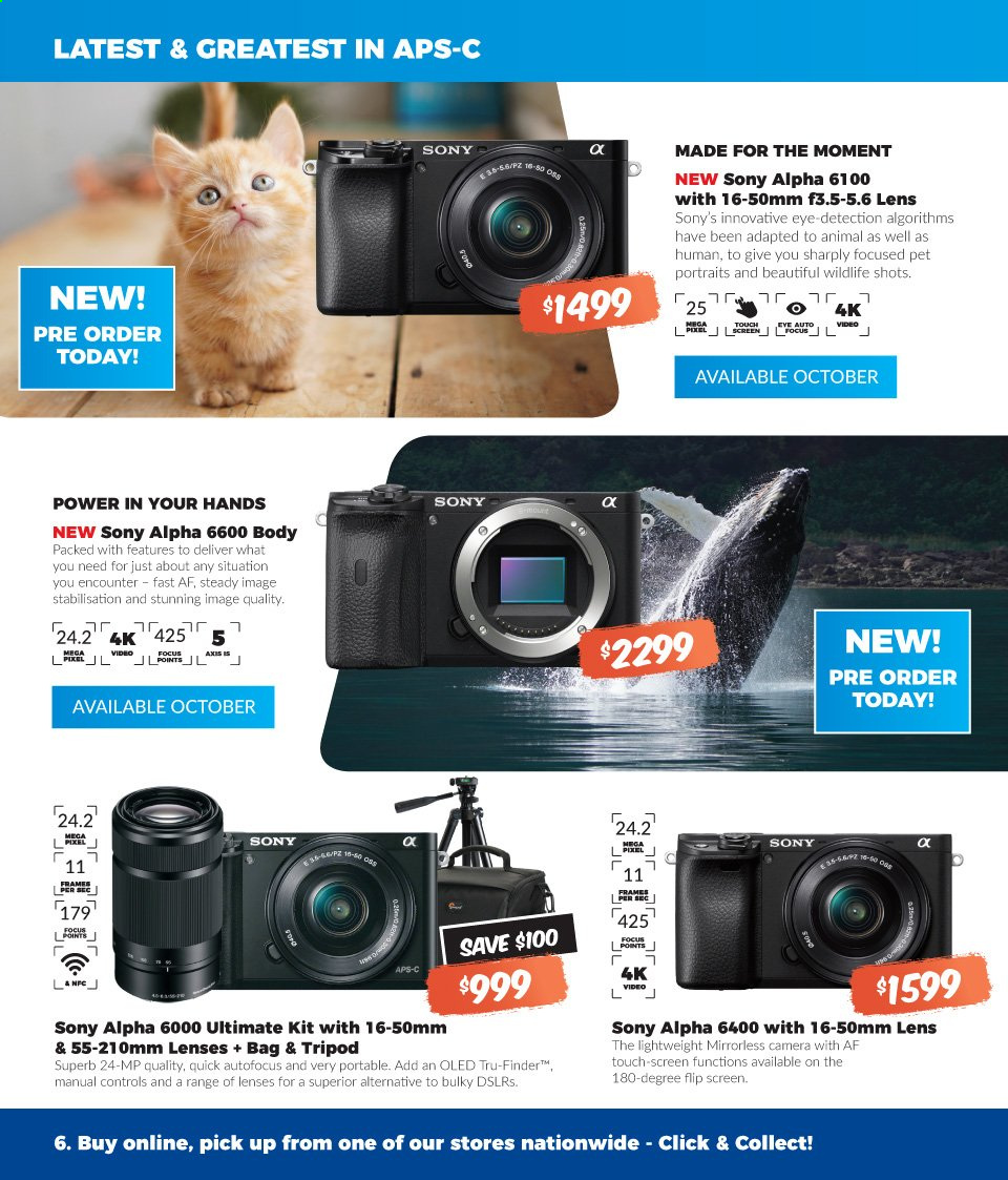 Camera House catalogue  - 2.9.2019 - 15.9.2019. Page 6.