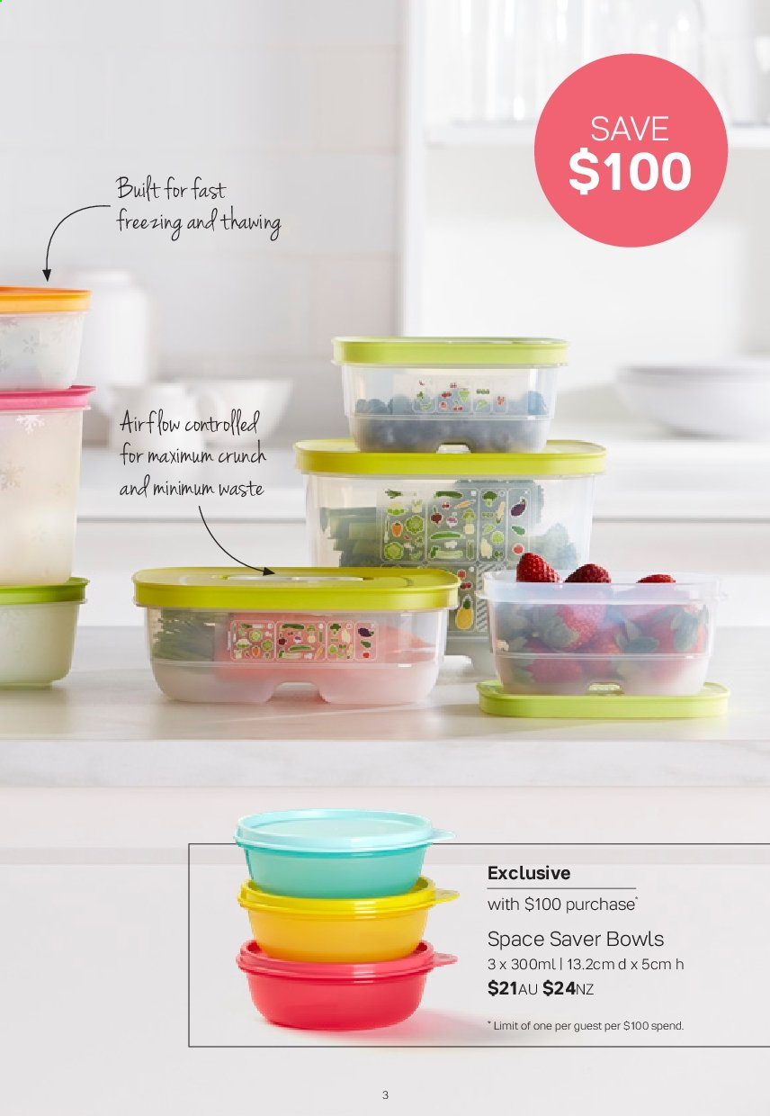Tupperware catalogue  - 2.9.2019 - 29.9.2019. Page 3.